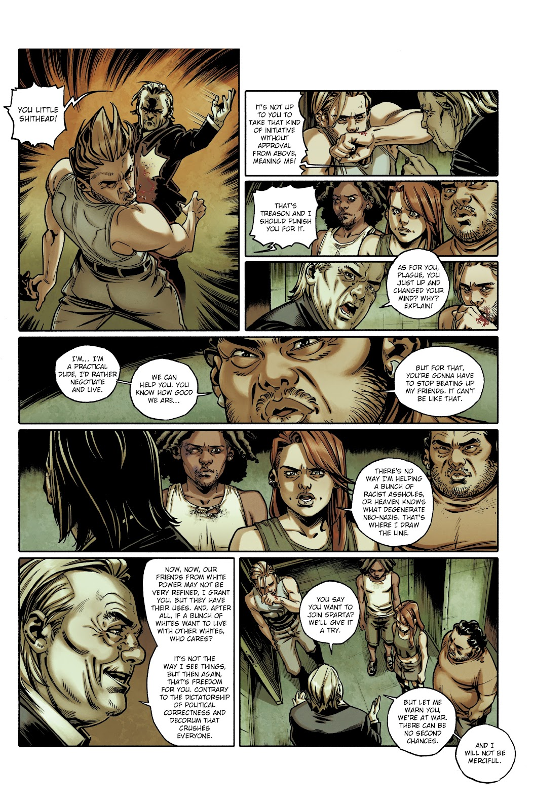 Read online Millennium: The Girl Who Danced With Death comic -  Issue #3 - 24