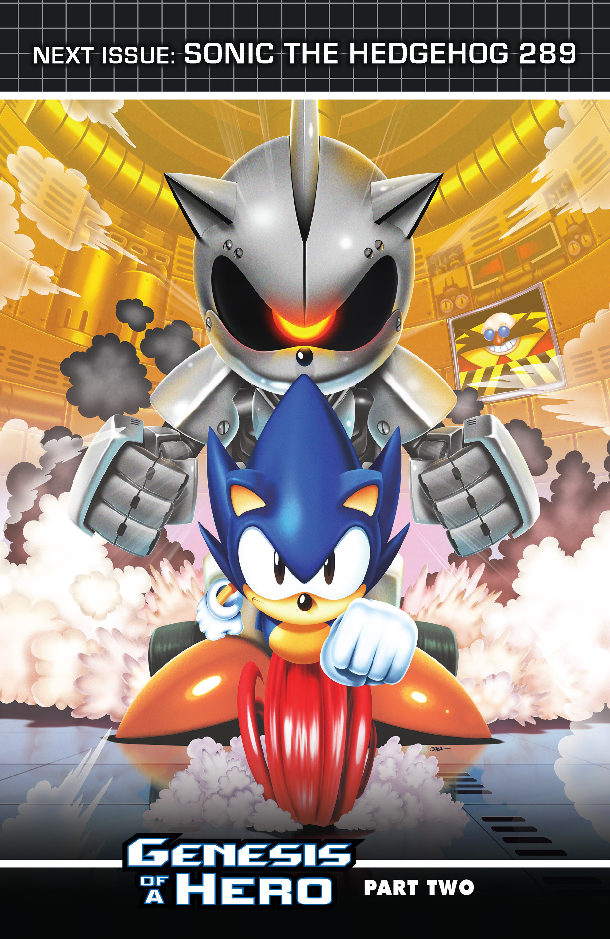 Read online Sonic The Hedgehog comic -  Issue #288 - 25