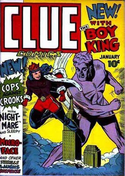 Clue Comics 1 Page 1