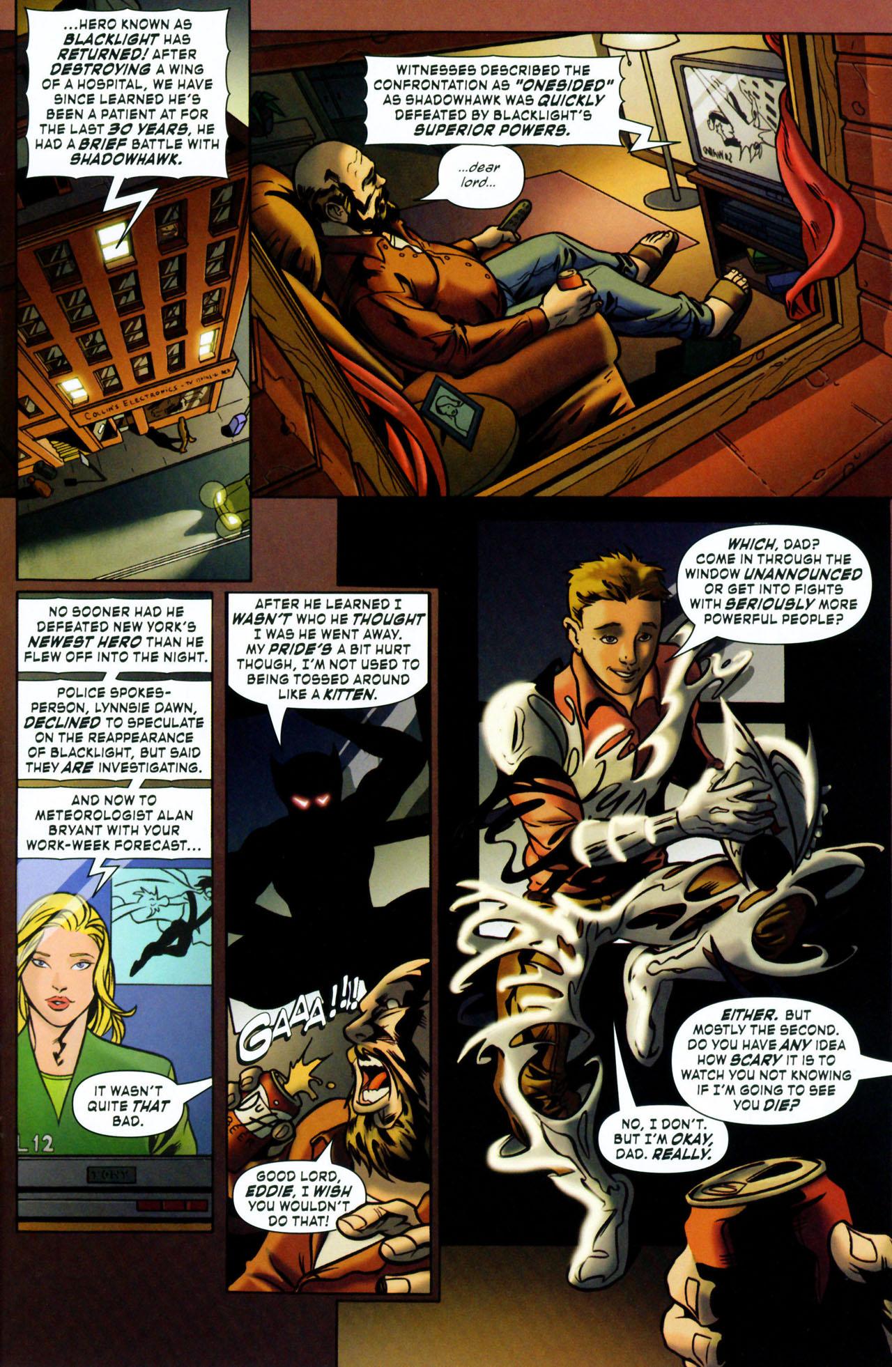 Read online ShadowHawk (2005) comic -  Issue #1 - 11