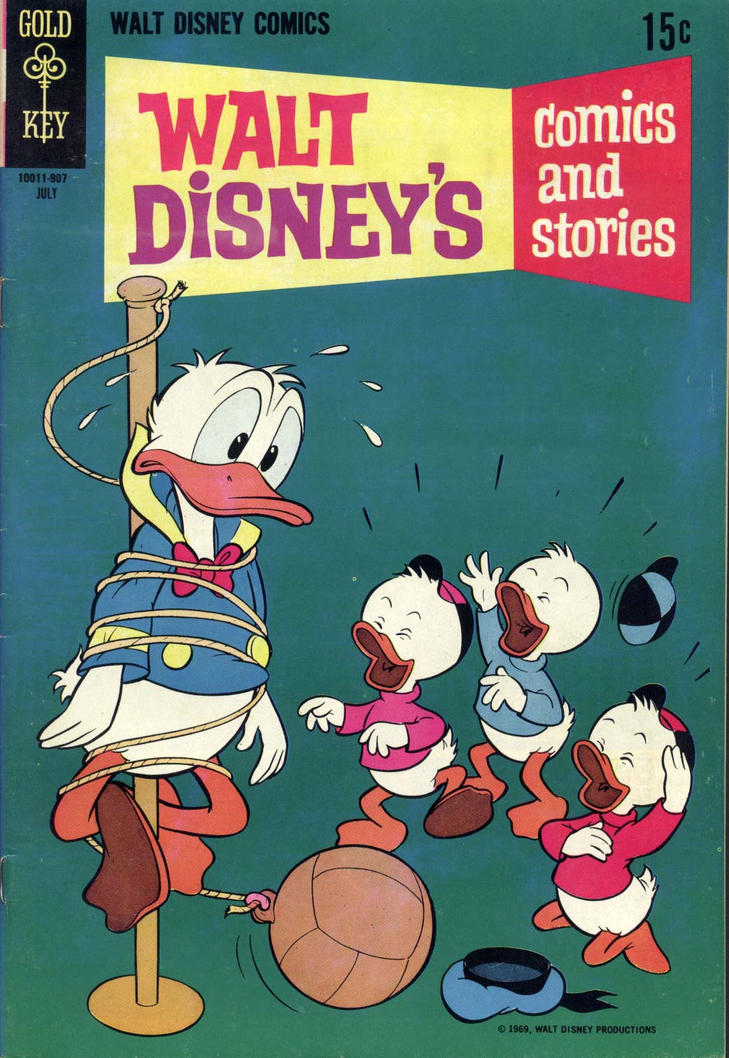 Walt Disney's Comics and Stories issue 346 - Page 1