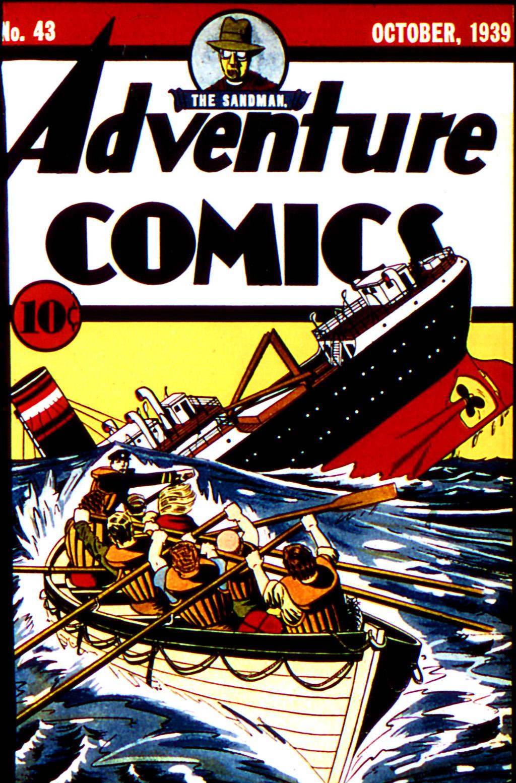 Read online Adventure Comics (1938) comic -  Issue #43 - 1