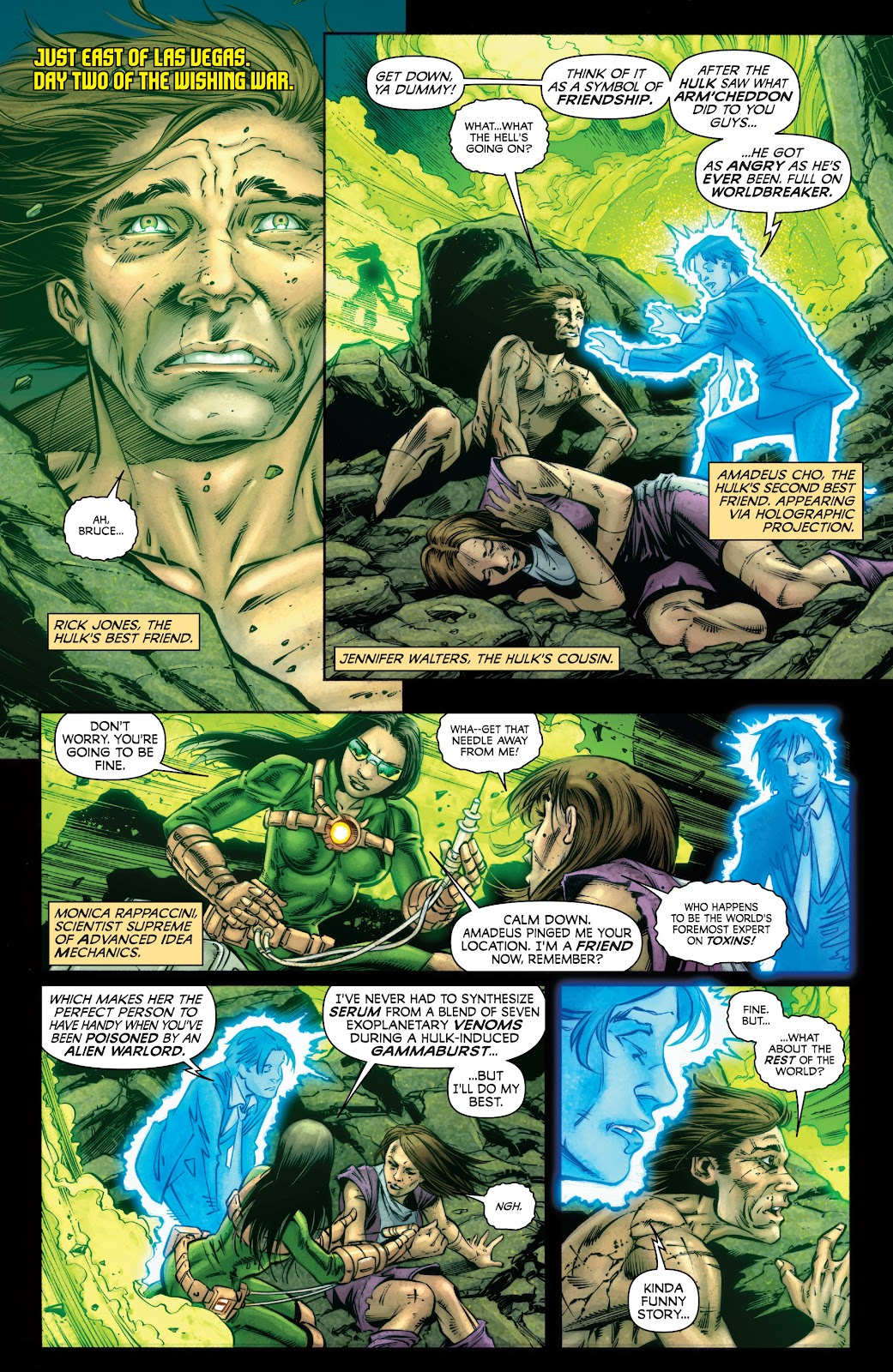 Read online Incredible Hulks (2010) comic -  Issue # _TPB Heart of the Monster - 69