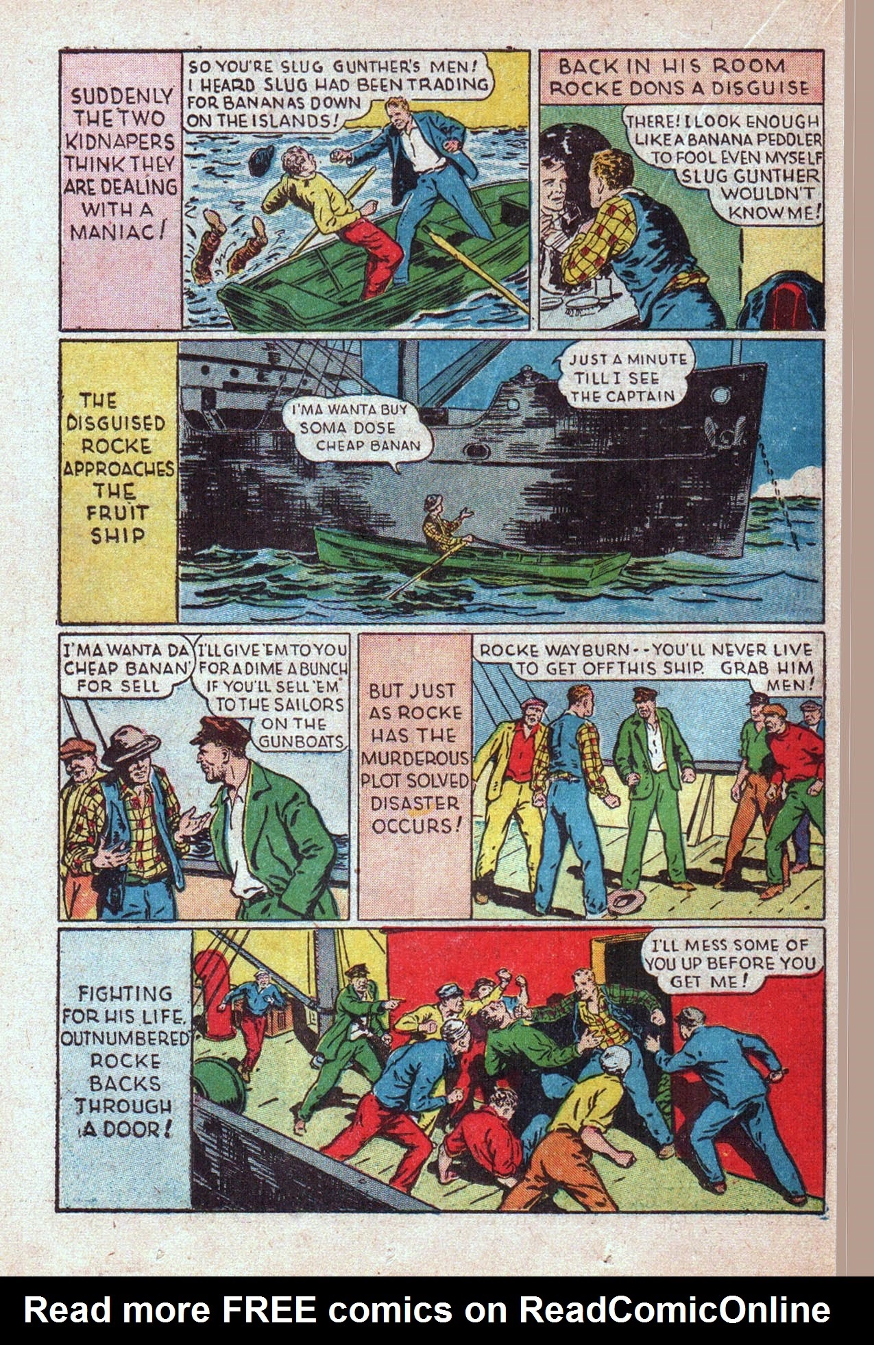 Read online Amazing Man Comics comic -  Issue #20 - 41