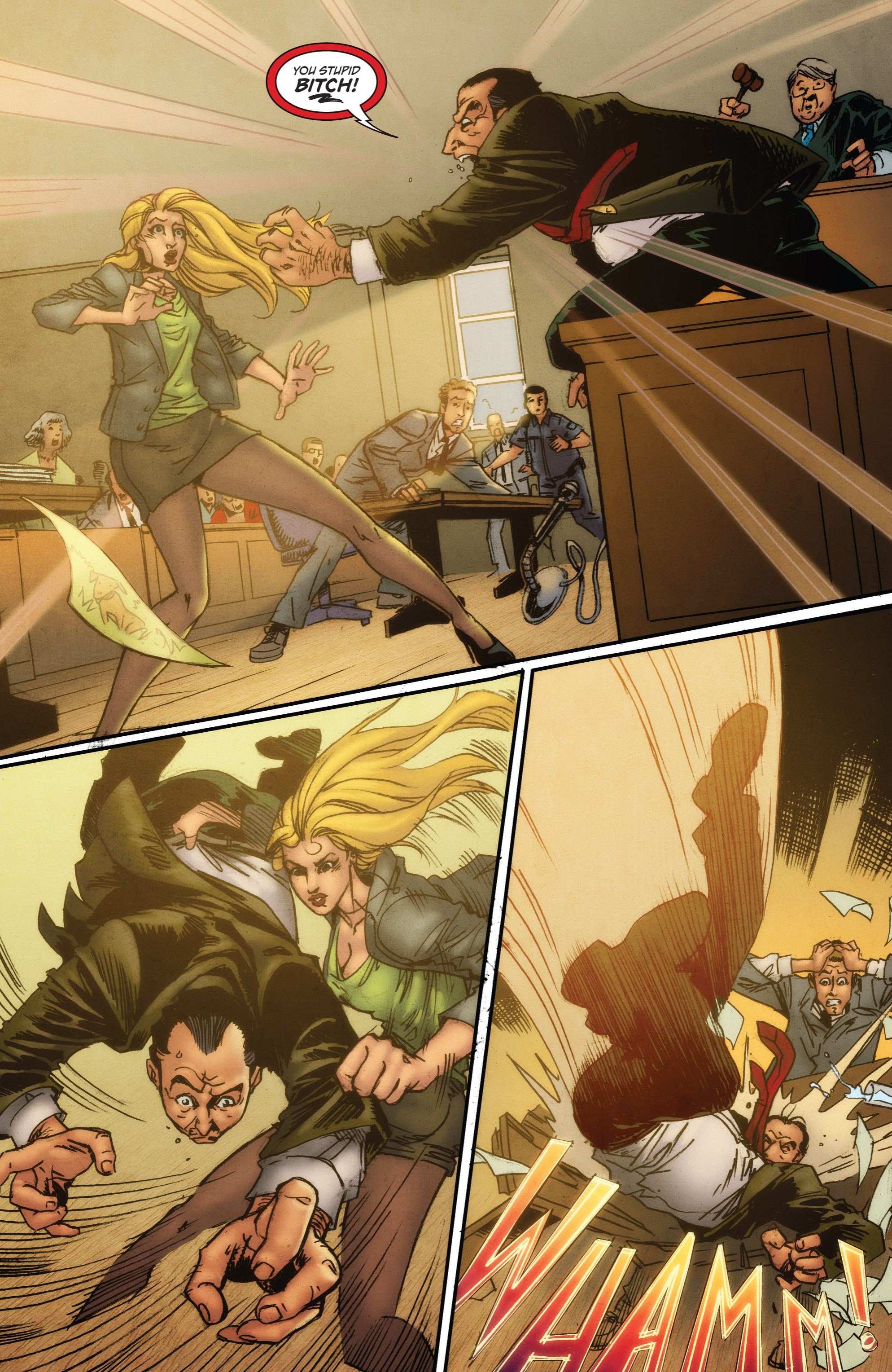 Read online Grimm Fairy Tales presents Grimm Universe comic -  Issue # TPB - 9