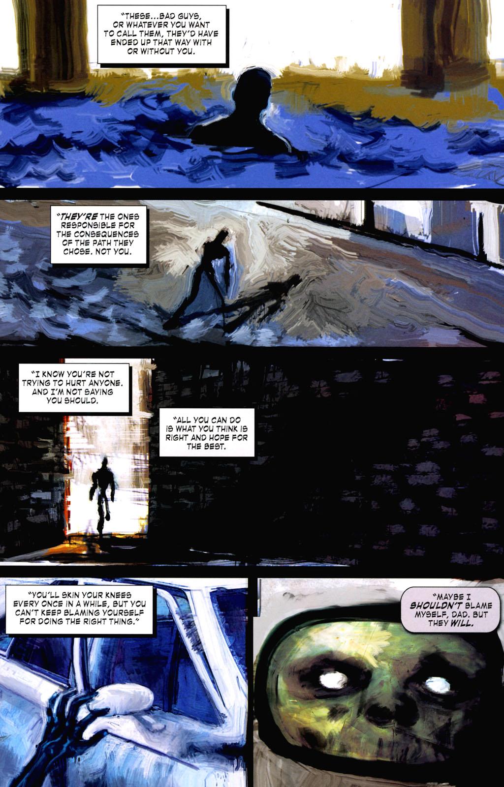 Read online ShadowHawk (2005) comic -  Issue #8 - 23