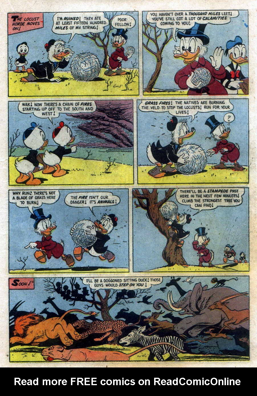 Read online Uncle Scrooge (1953) comic -  Issue #15 - 19