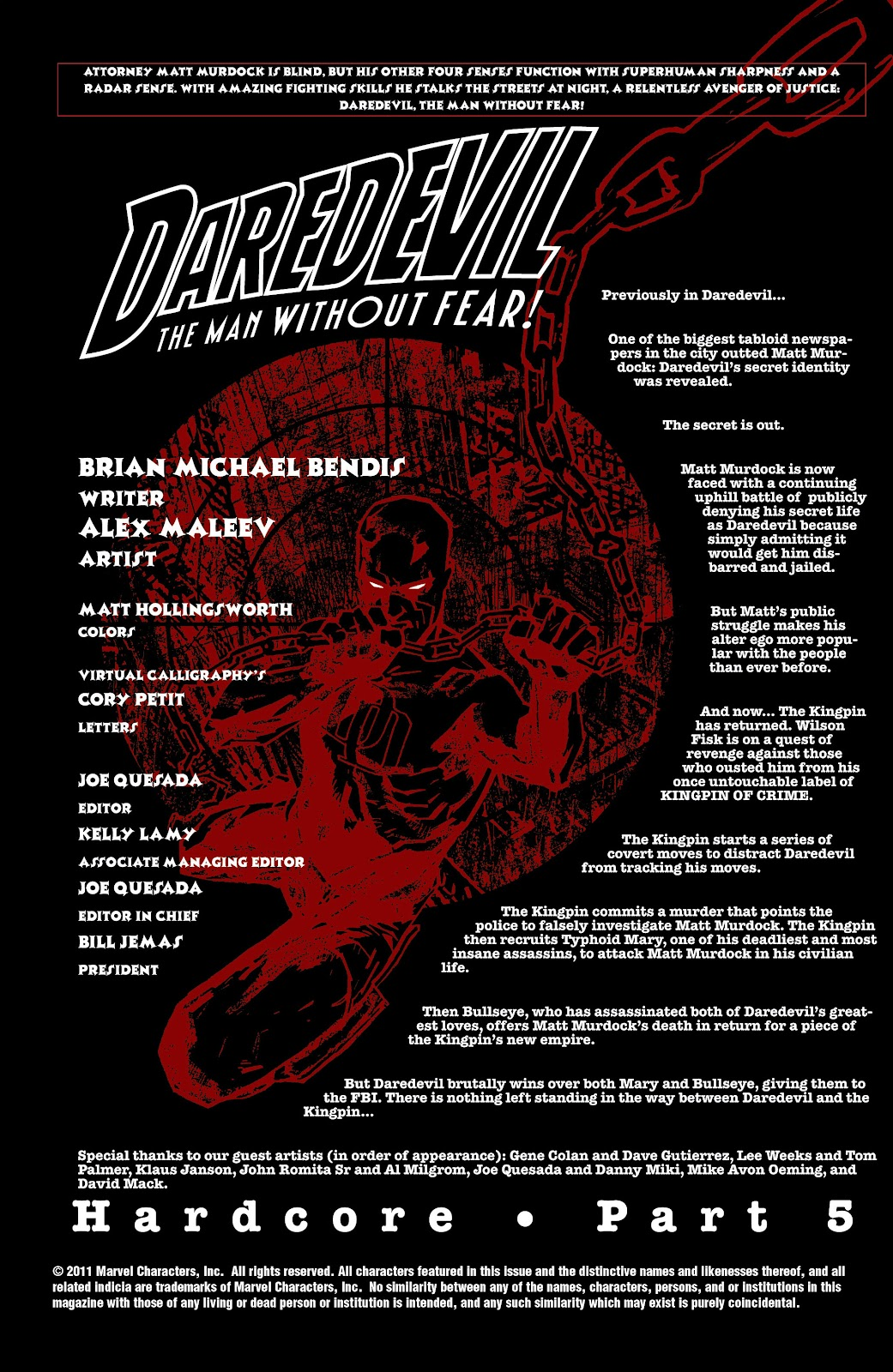 Read online Daredevil (1998) comic -  Issue # _Ultimate_Collection TPB 2 (Part 3) - 6