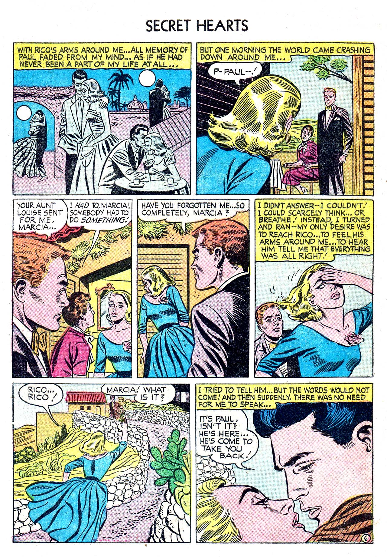 Read online Secret Hearts comic -  Issue #32 - 8