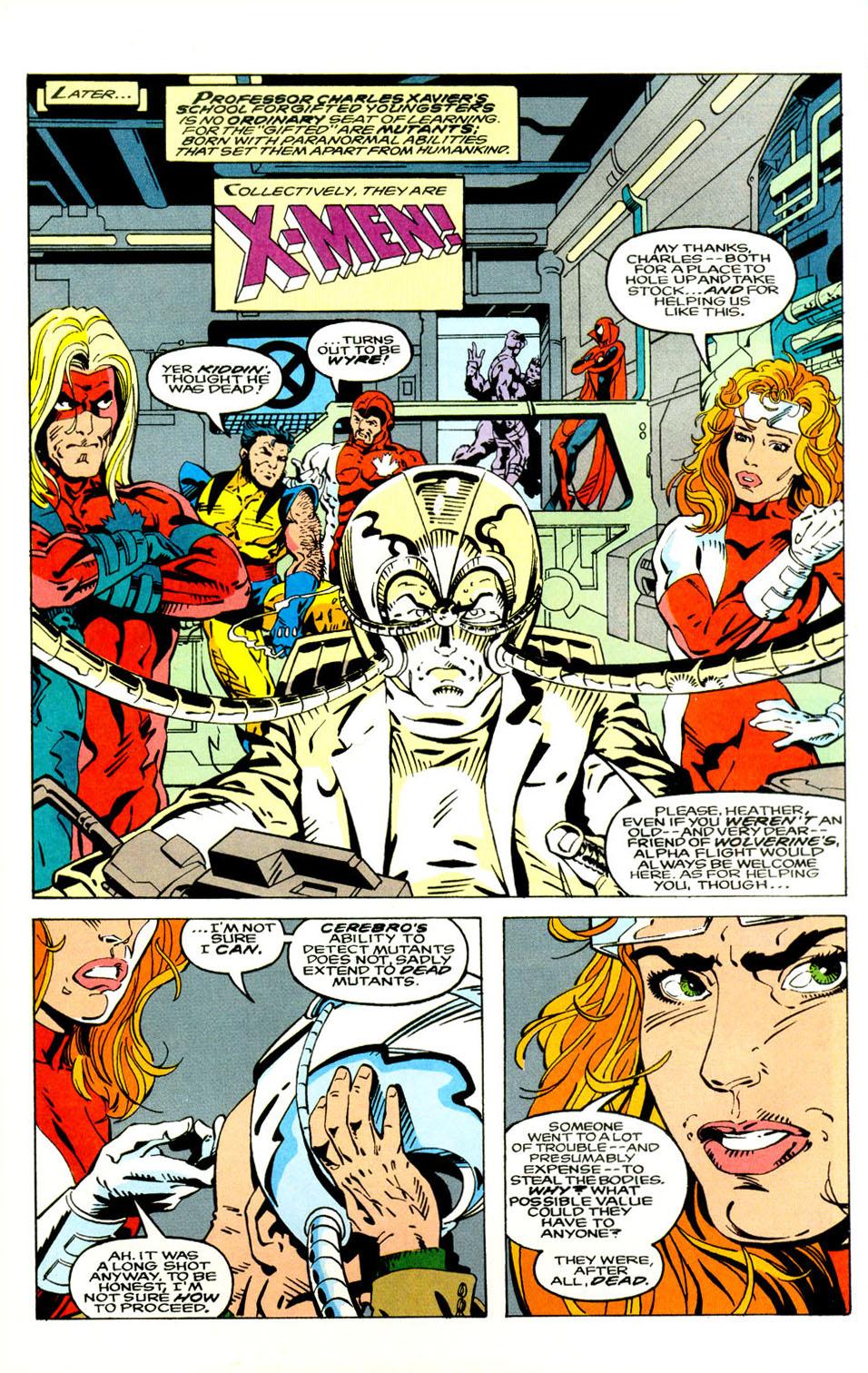 Read online Alpha Flight (1983) comic -  Issue #121 - 7