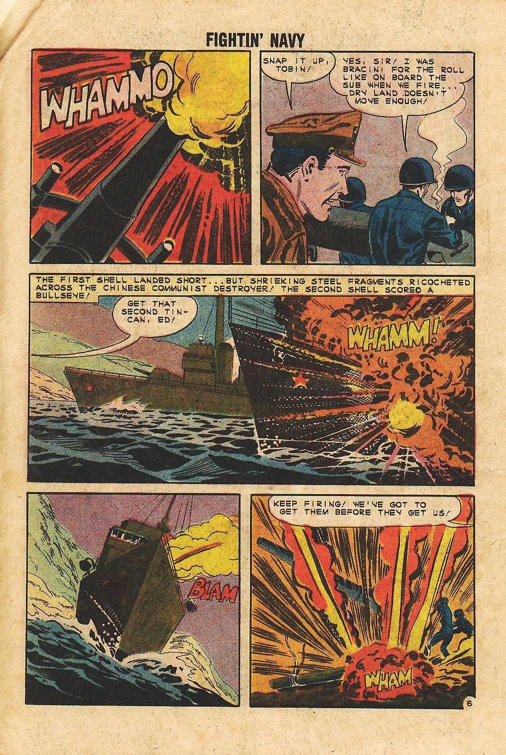 Read online Fightin' Navy comic -  Issue #105 - 20