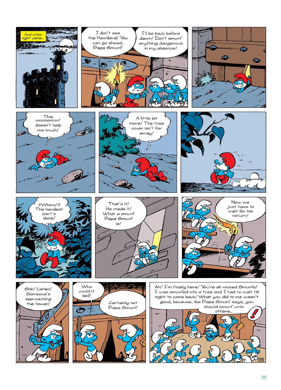 Read online The Smurfs comic -  Issue #6 - 35