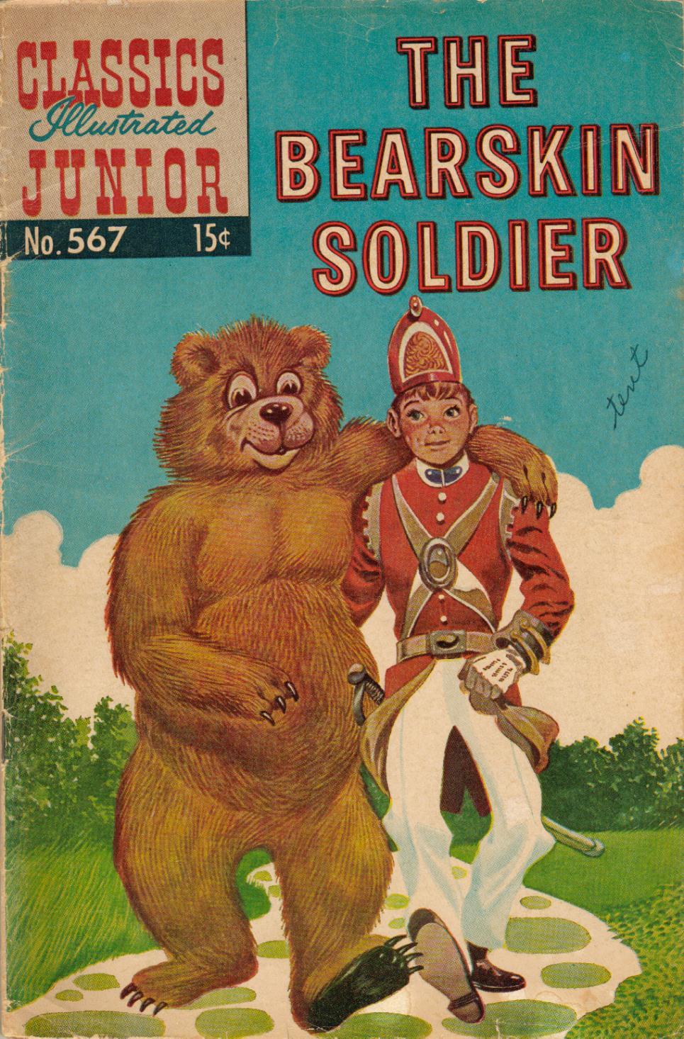 Classics Illustrated Junior 567 Page 1