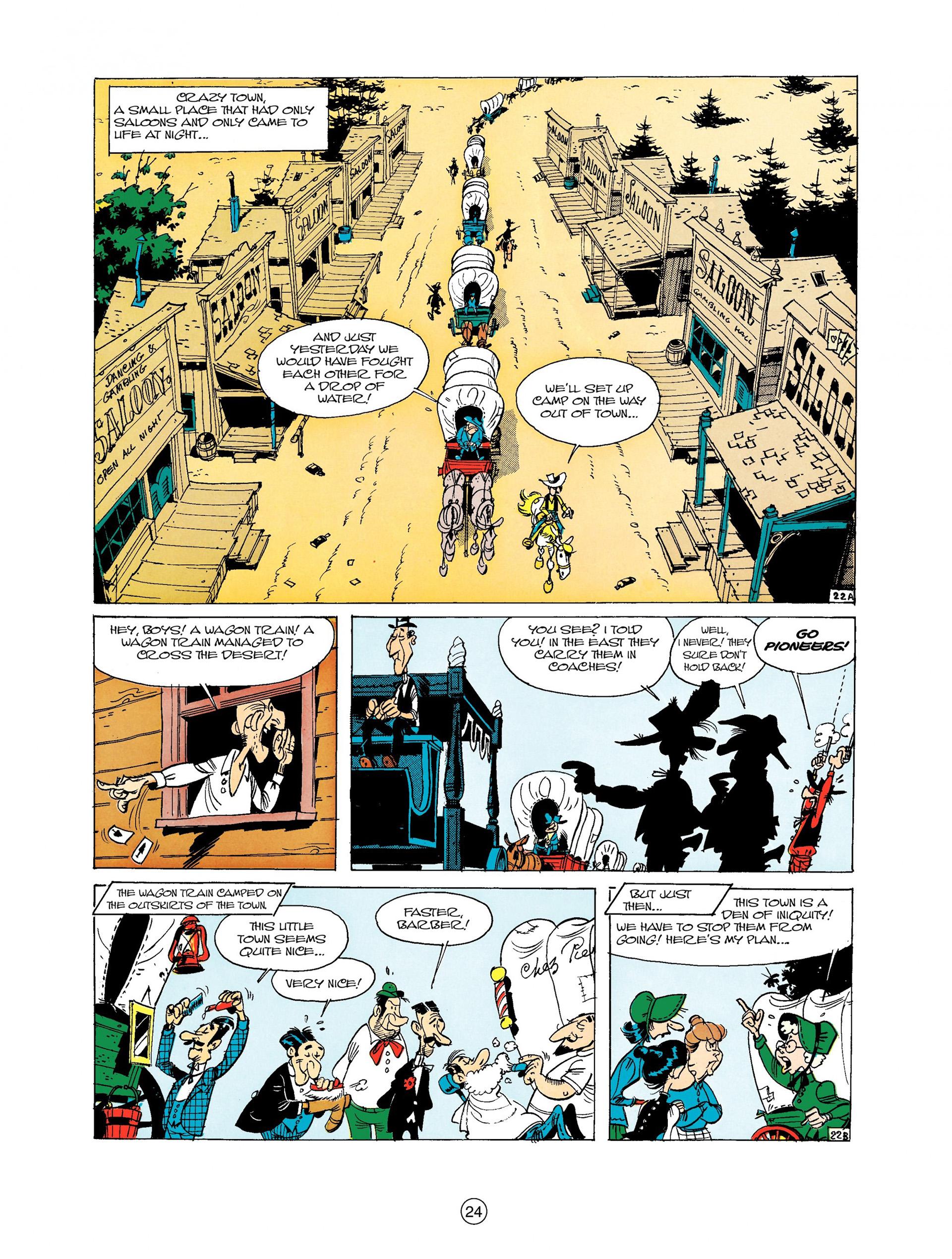 Read online A Lucky Luke Adventure comic -  Issue #9 - 24