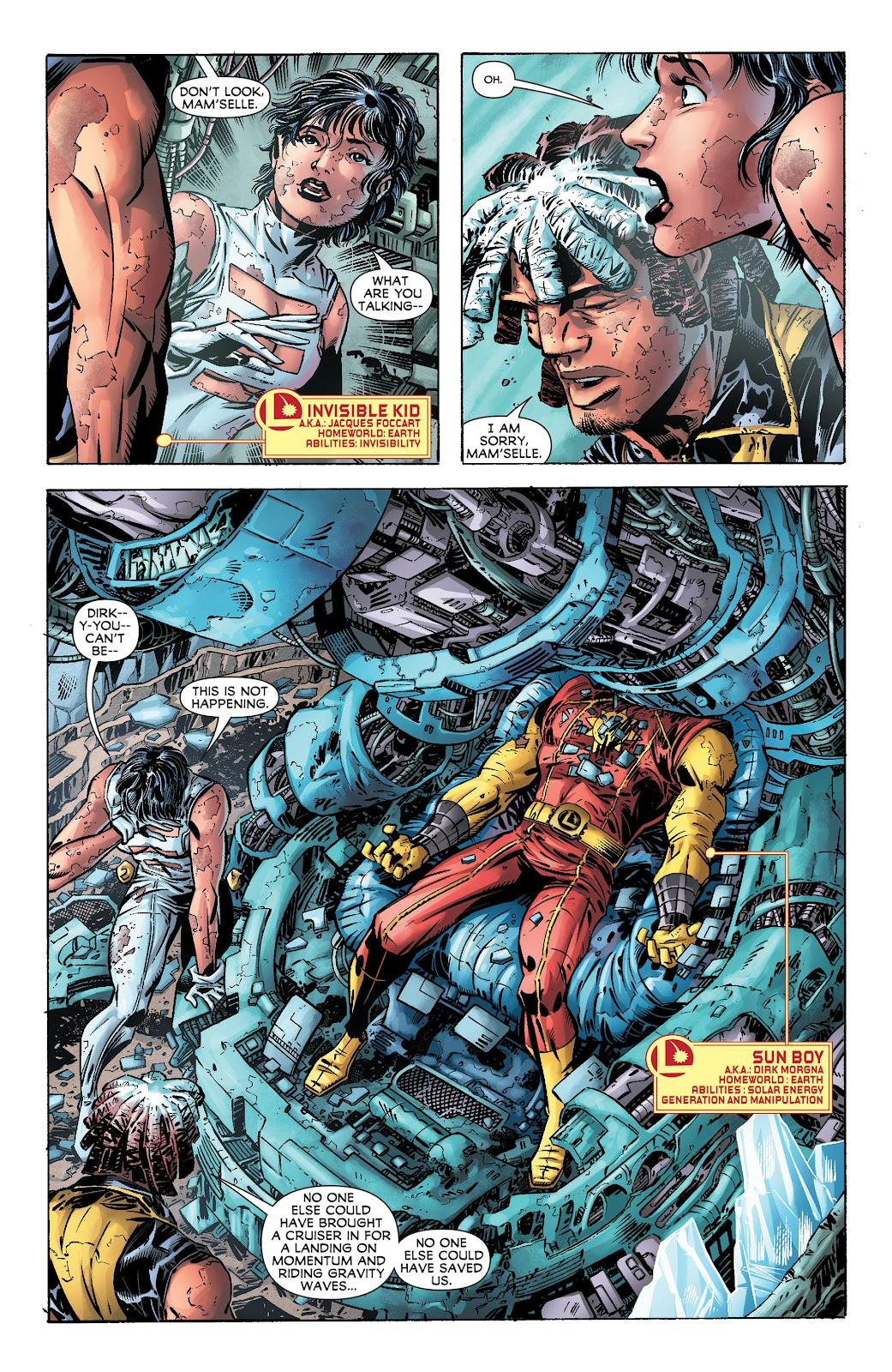Legion of Super-Heroes (2011) Issue #17 #18 - English 5