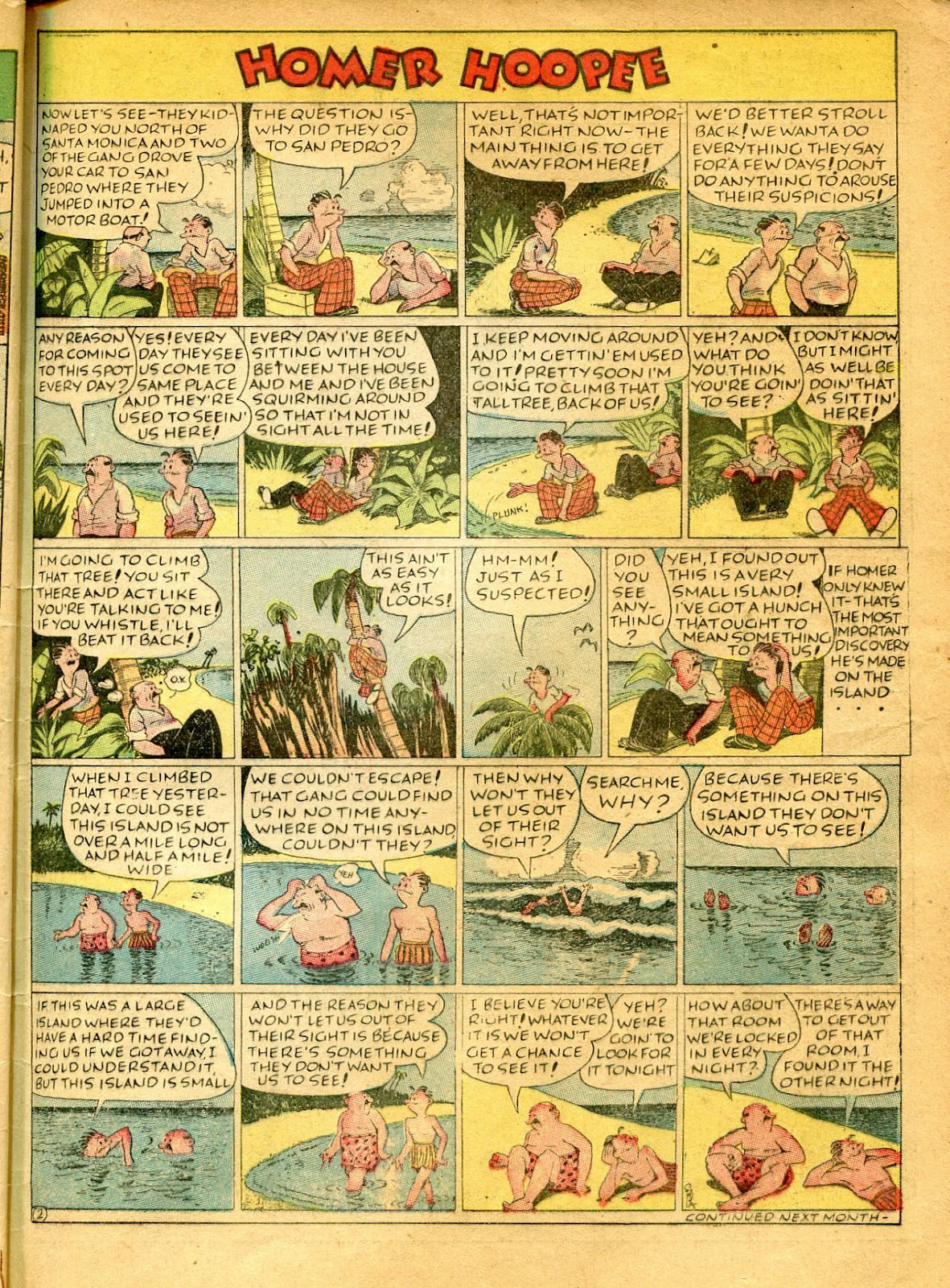 Read online Famous Funnies comic -  Issue #41 - 63