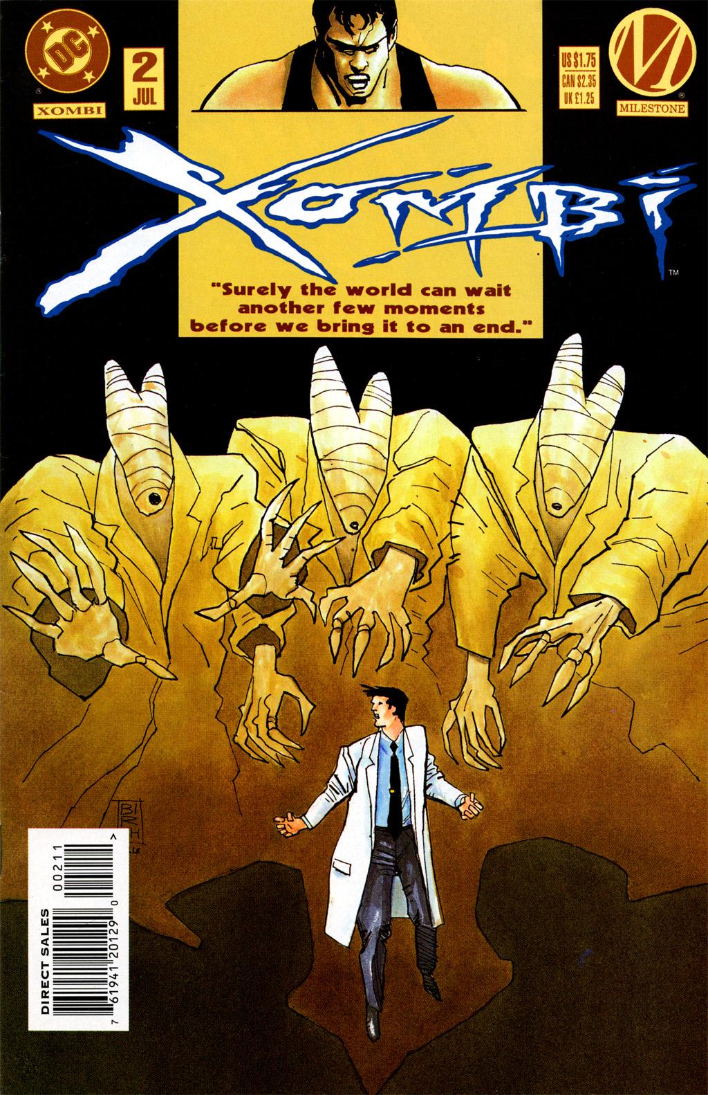 Xombi (1994) 2 Page 1