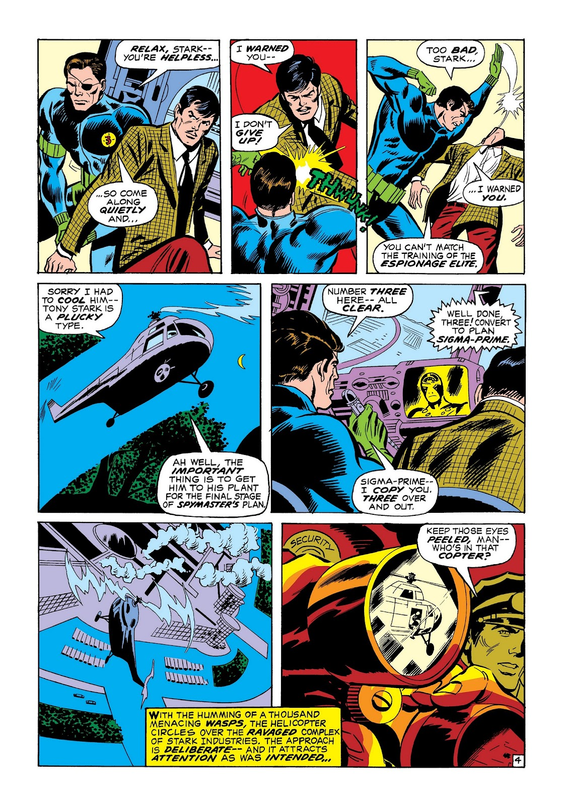 Read online Marvel Masterworks: The Invincible Iron Man comic -  Issue # TPB 7 (Part 2) - 73