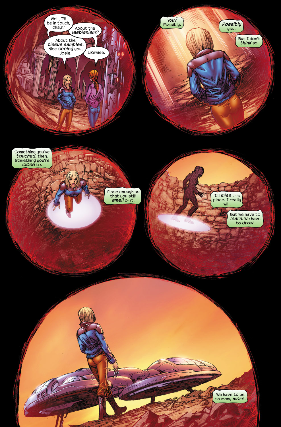 Read online Ultimate Fantastic Four (2004) comic -  Issue #54 - 6