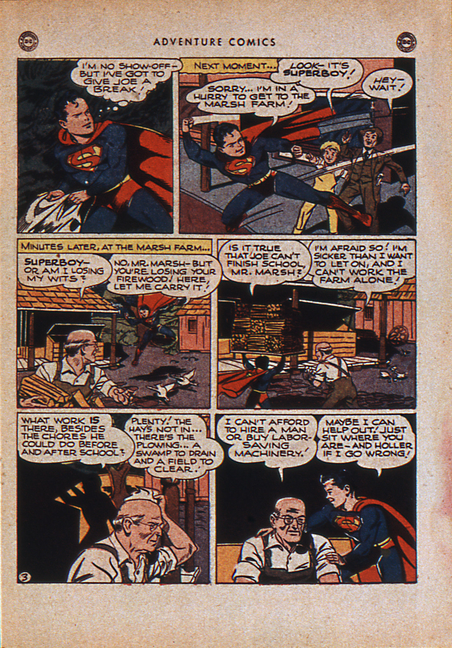 Read online Adventure Comics (1938) comic -  Issue #110 - 6