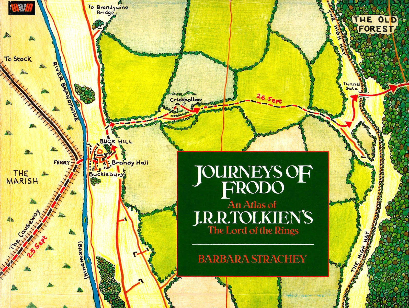 Journeys of Frodo: An Atlas of J.R.R. Tolkiens The Lord of the Rings issue TPB - Page 1