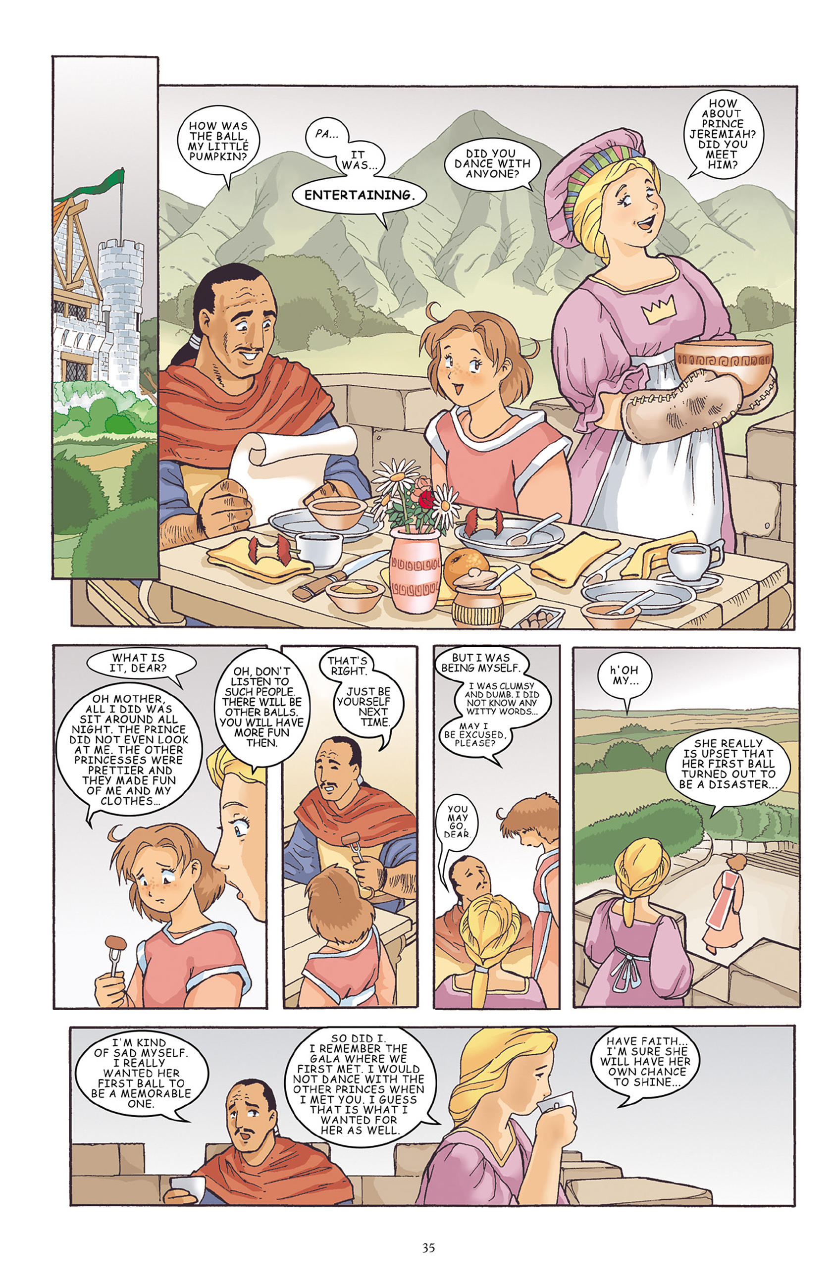 Read online Courageous Princess comic -  Issue # TPB 1 - 36