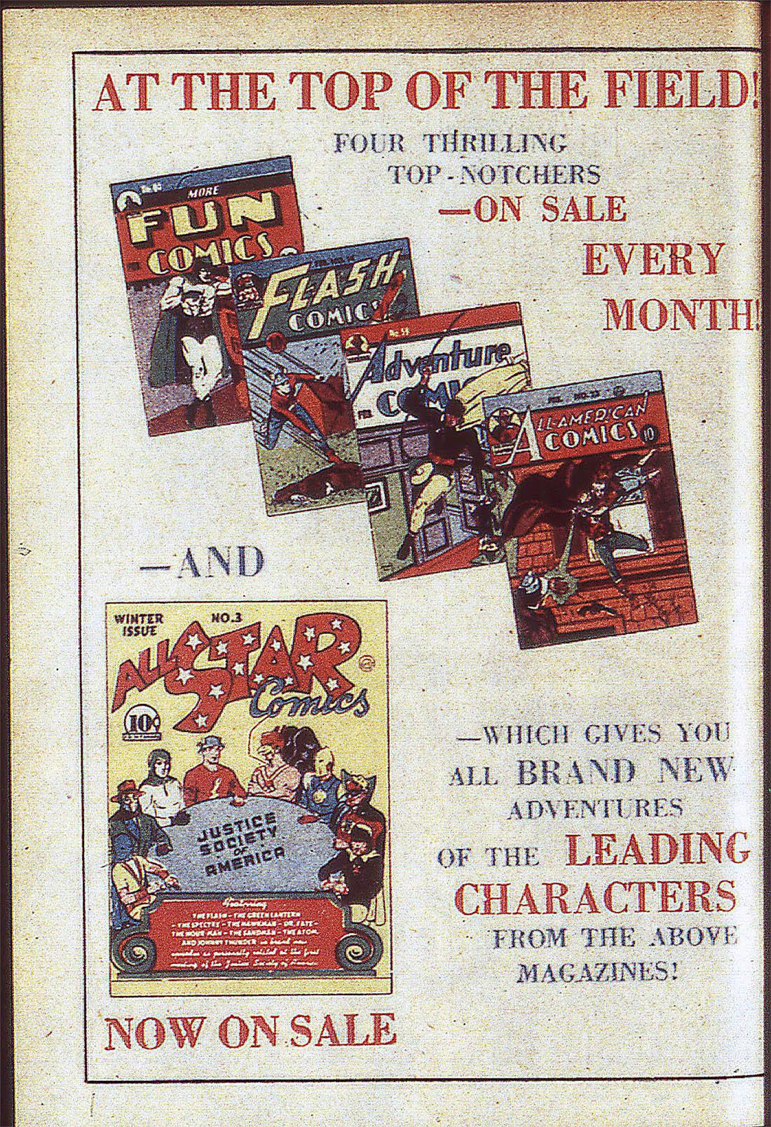 Read online Adventure Comics (1938) comic -  Issue #59 - 67