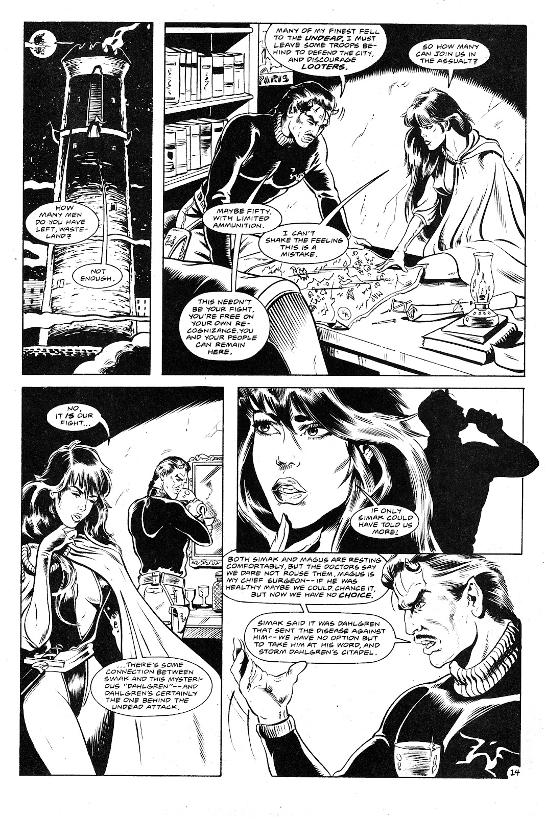 Ex-Mutants: The Shattered Earth Chronicles issue 9 - Page 16