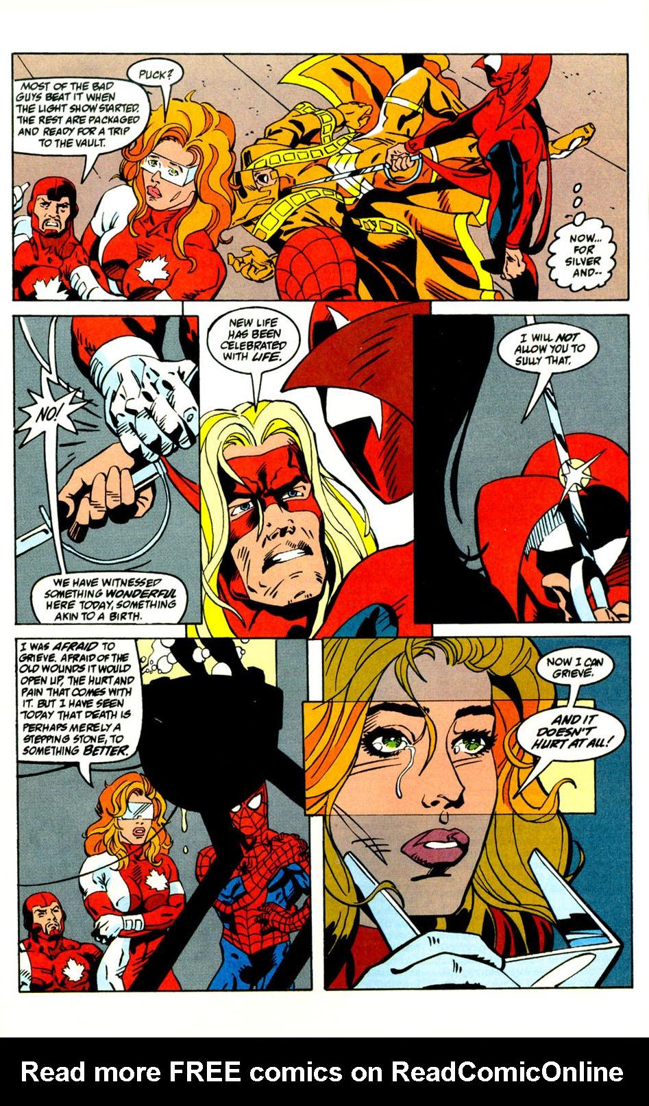 Read online Alpha Flight (1983) comic -  Issue #121 - 23