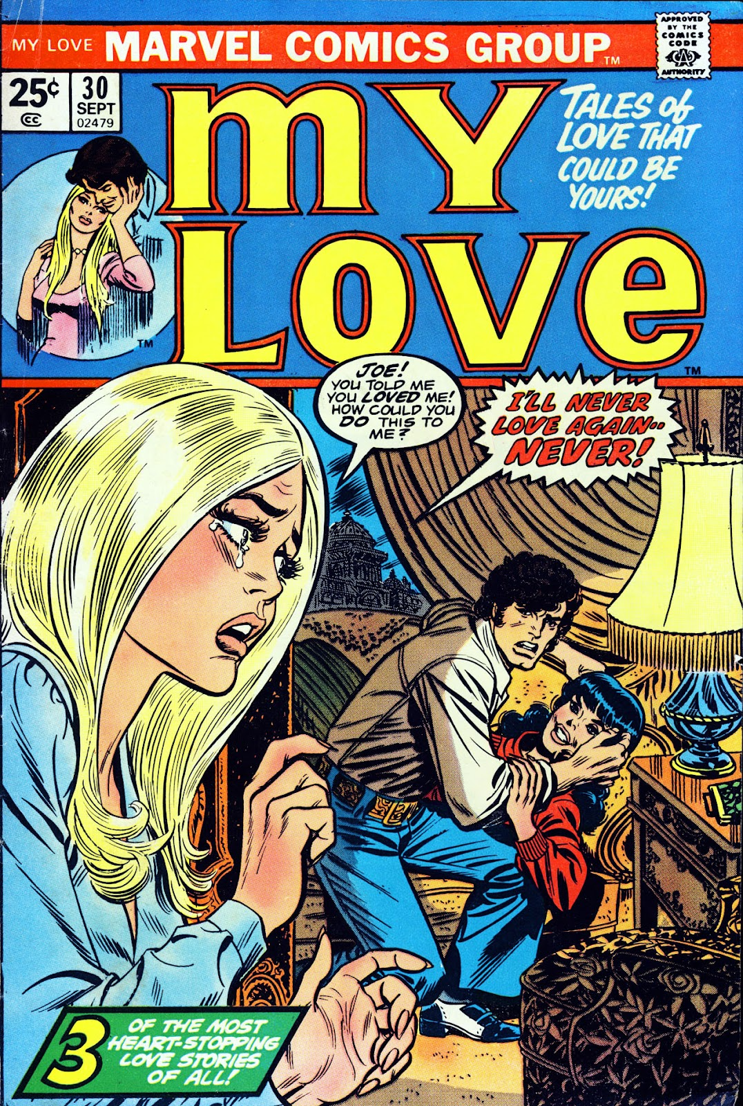 My Love (1969) issue 30 - Page 1