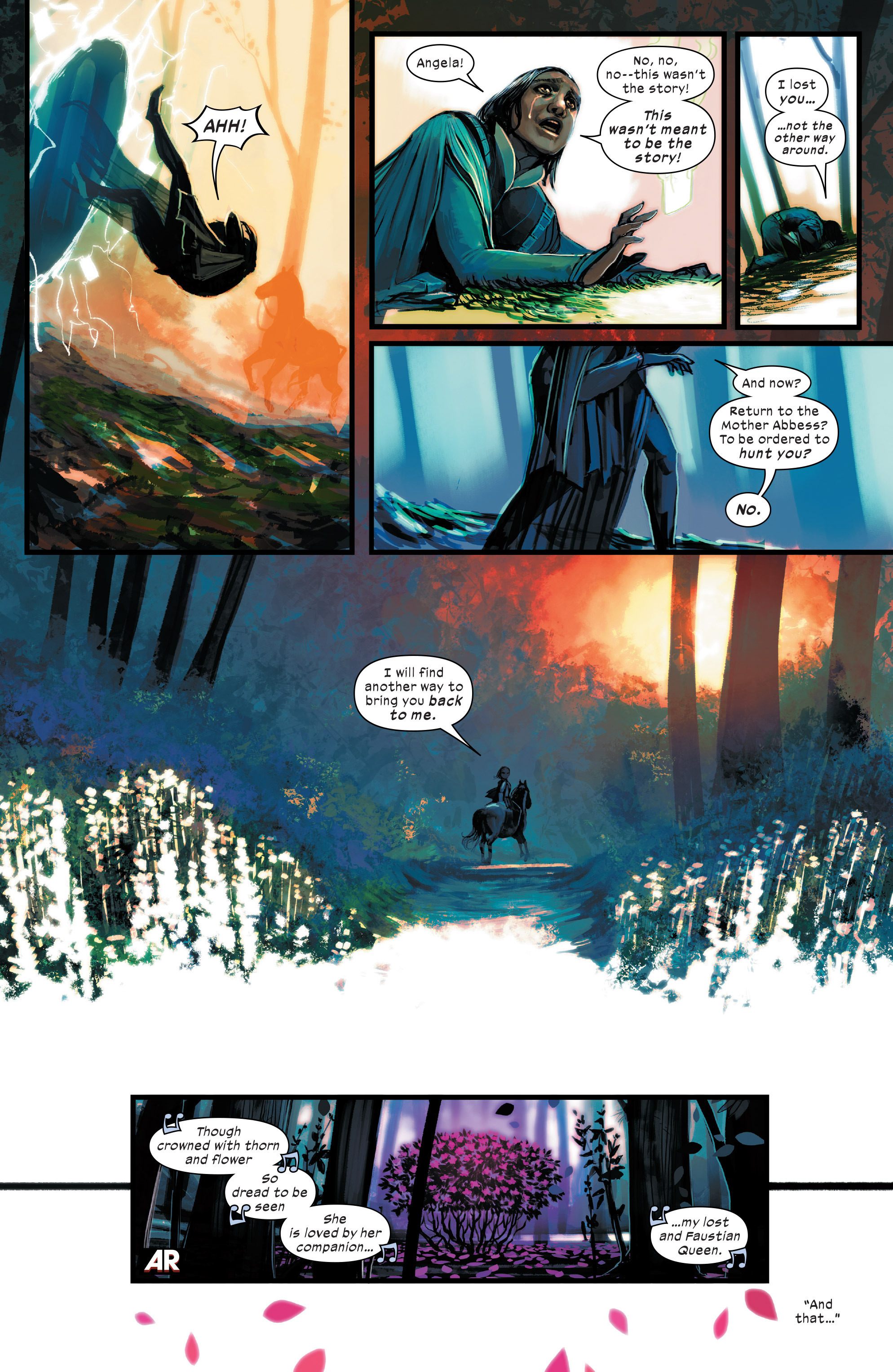 Read online 1602 Witch Hunter Angela comic -  Issue #4 - 14