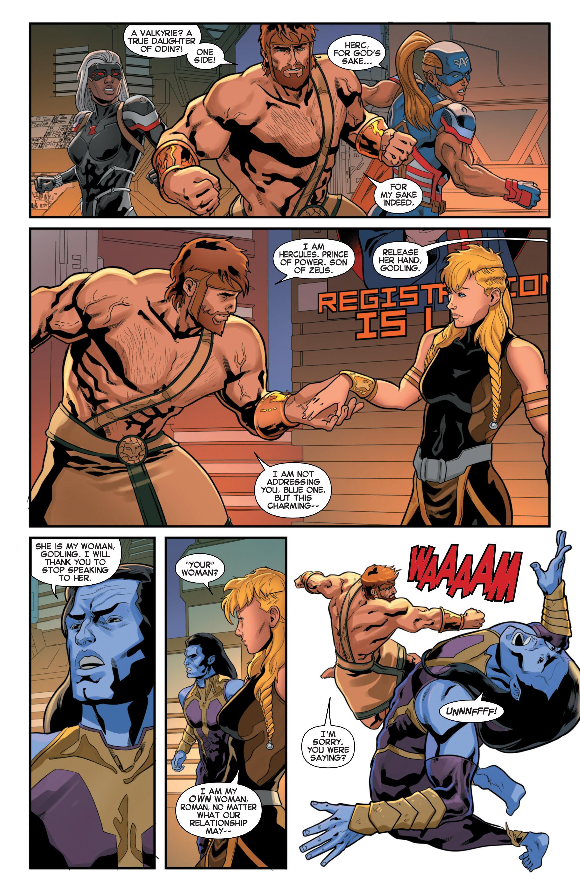 Read online Secret Wars 2099 comic -  Issue #3 - 7
