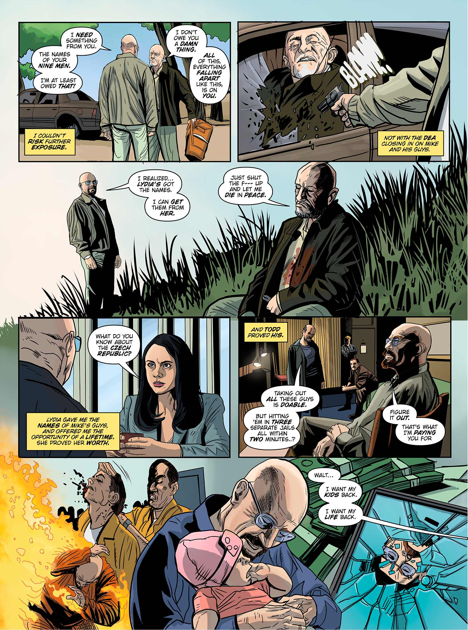Read online Breaking Bad: All Bad Things comic -  Issue # Full - 20