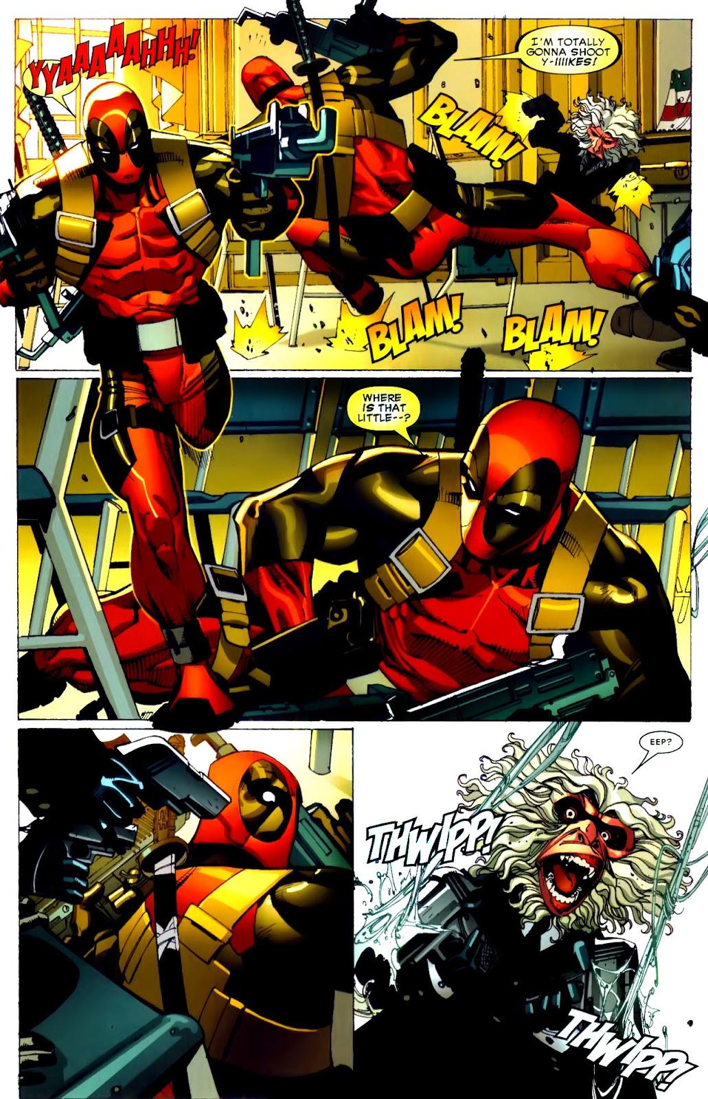 Read online Deadpool (2008) comic -  Issue #21 - 17