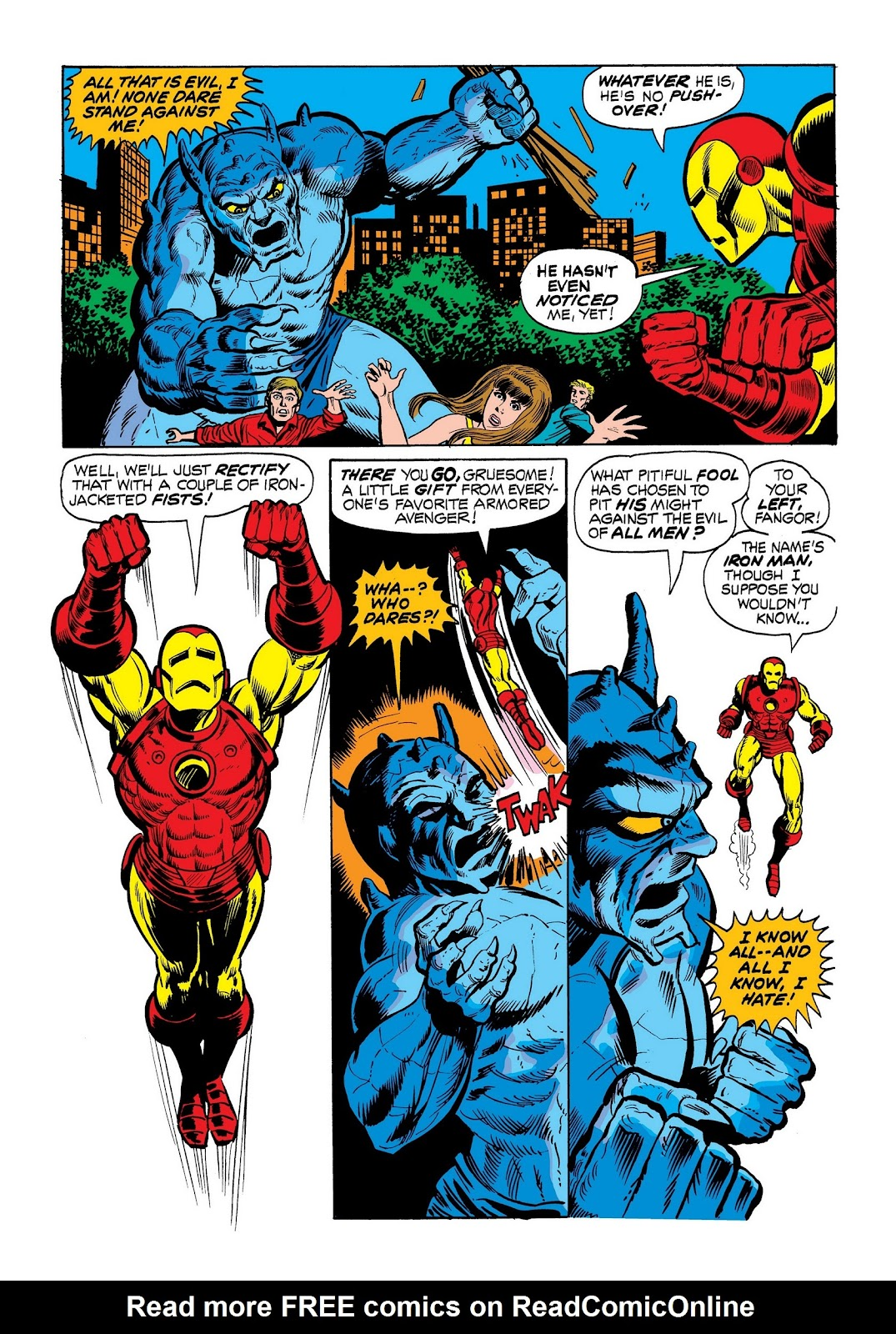 Read online Marvel Masterworks: The Invincible Iron Man comic -  Issue # TPB 9 (Part 1) - 60