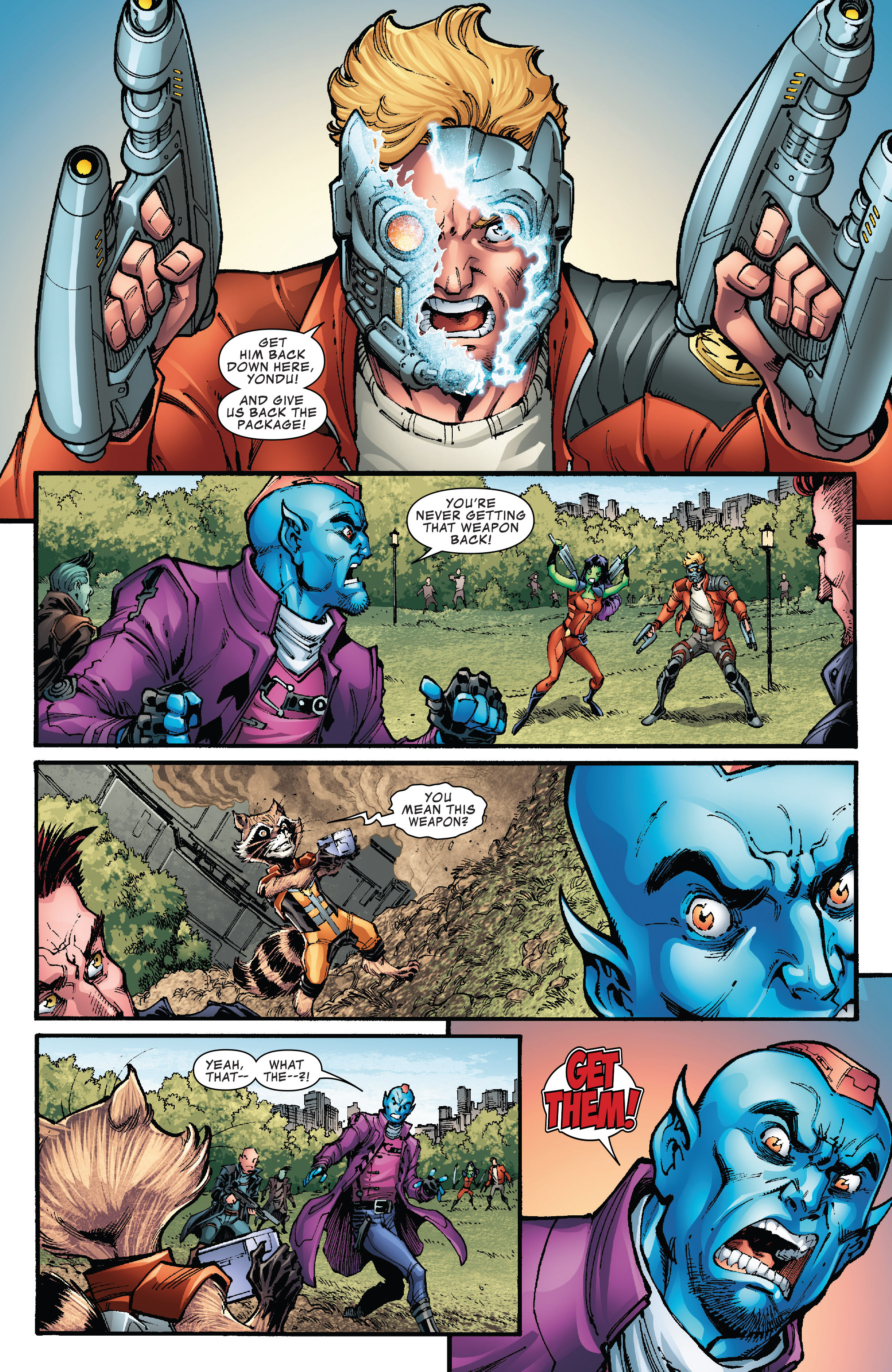Read online Hi-Tech Heroes Presented By Hanes comic -  Issue # Full - 9