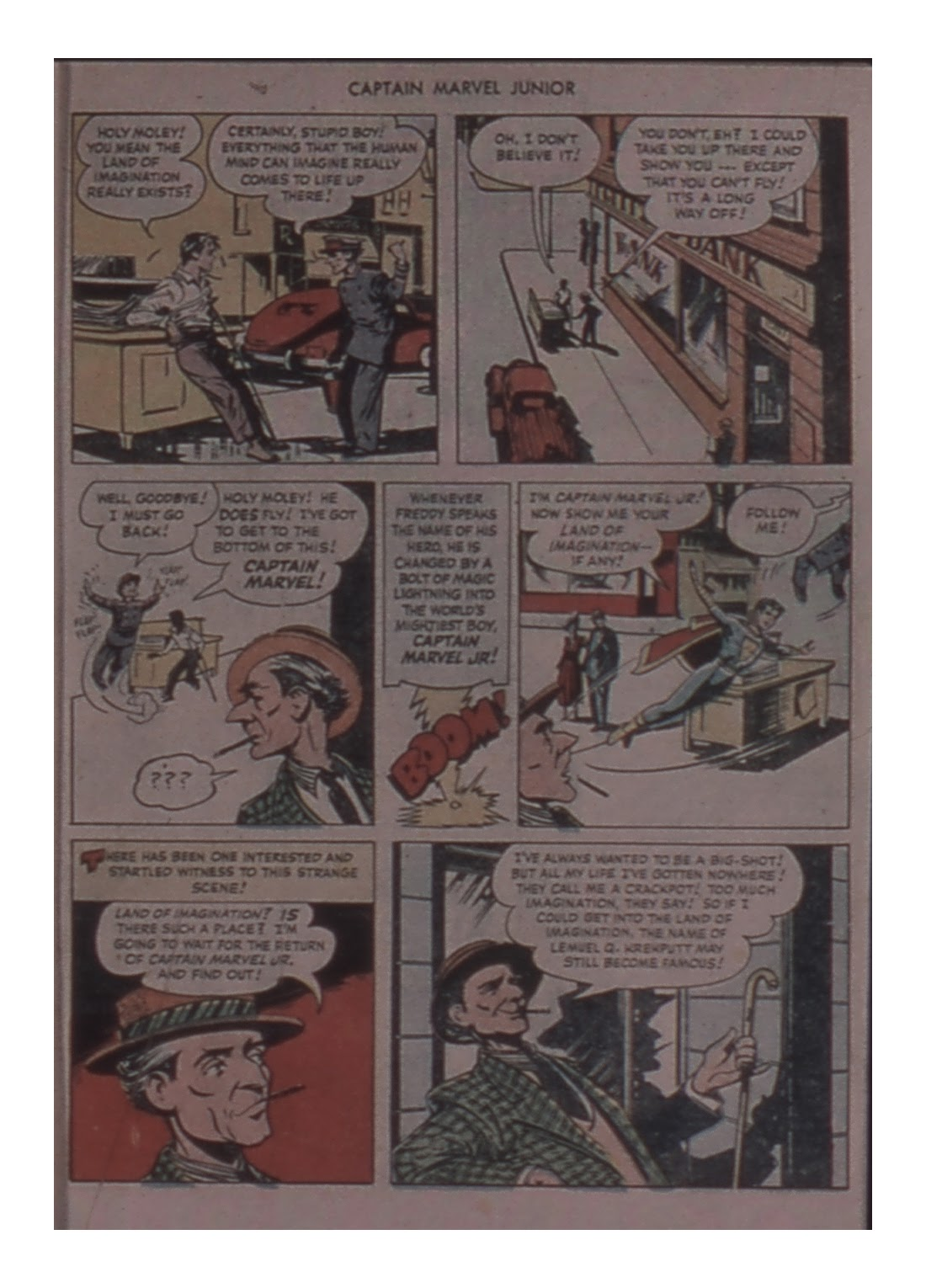 Captain Marvel, Jr. issue 81 - Page 7