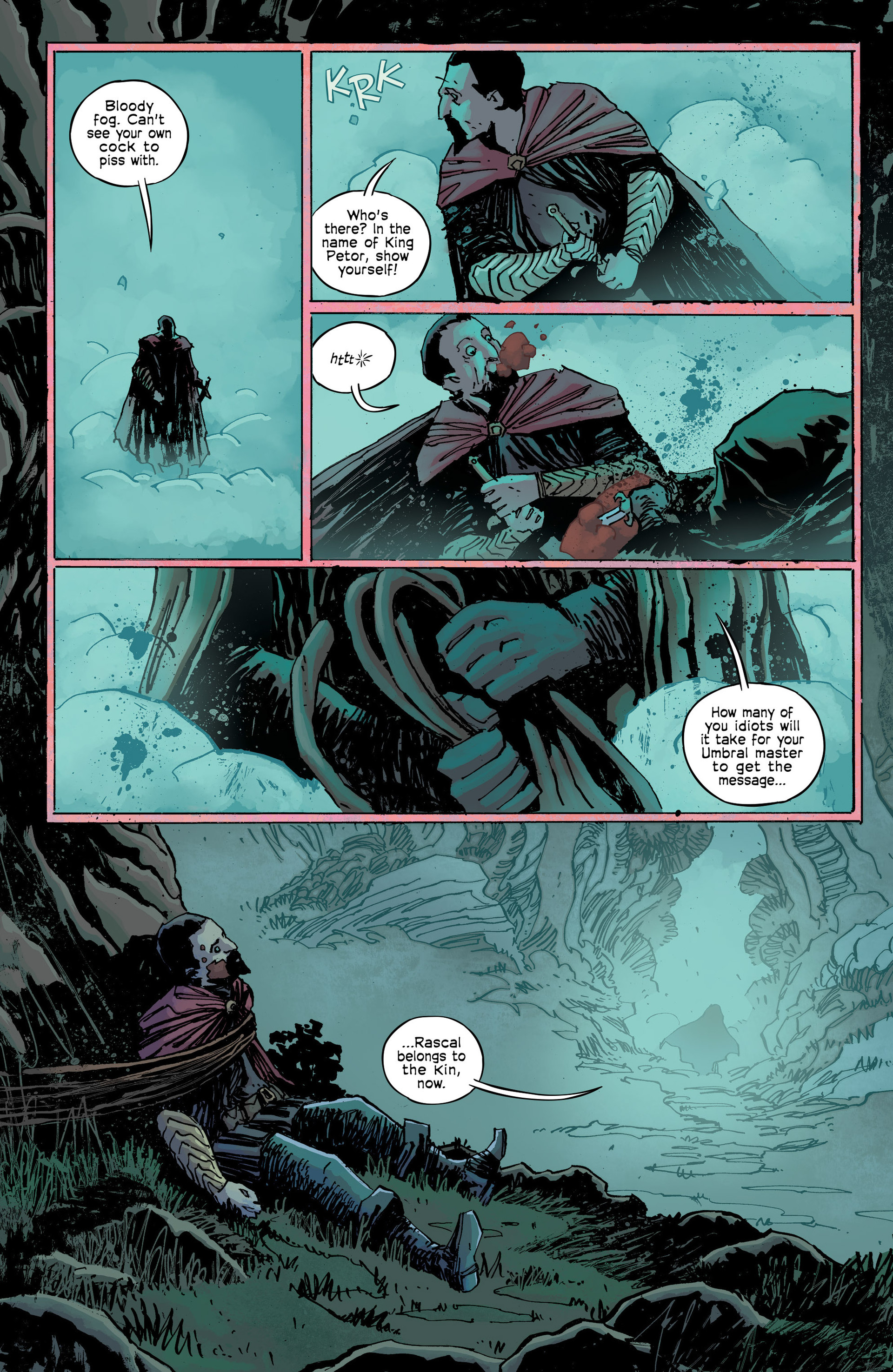 Read online Umbral comic -  Issue #9 - 13