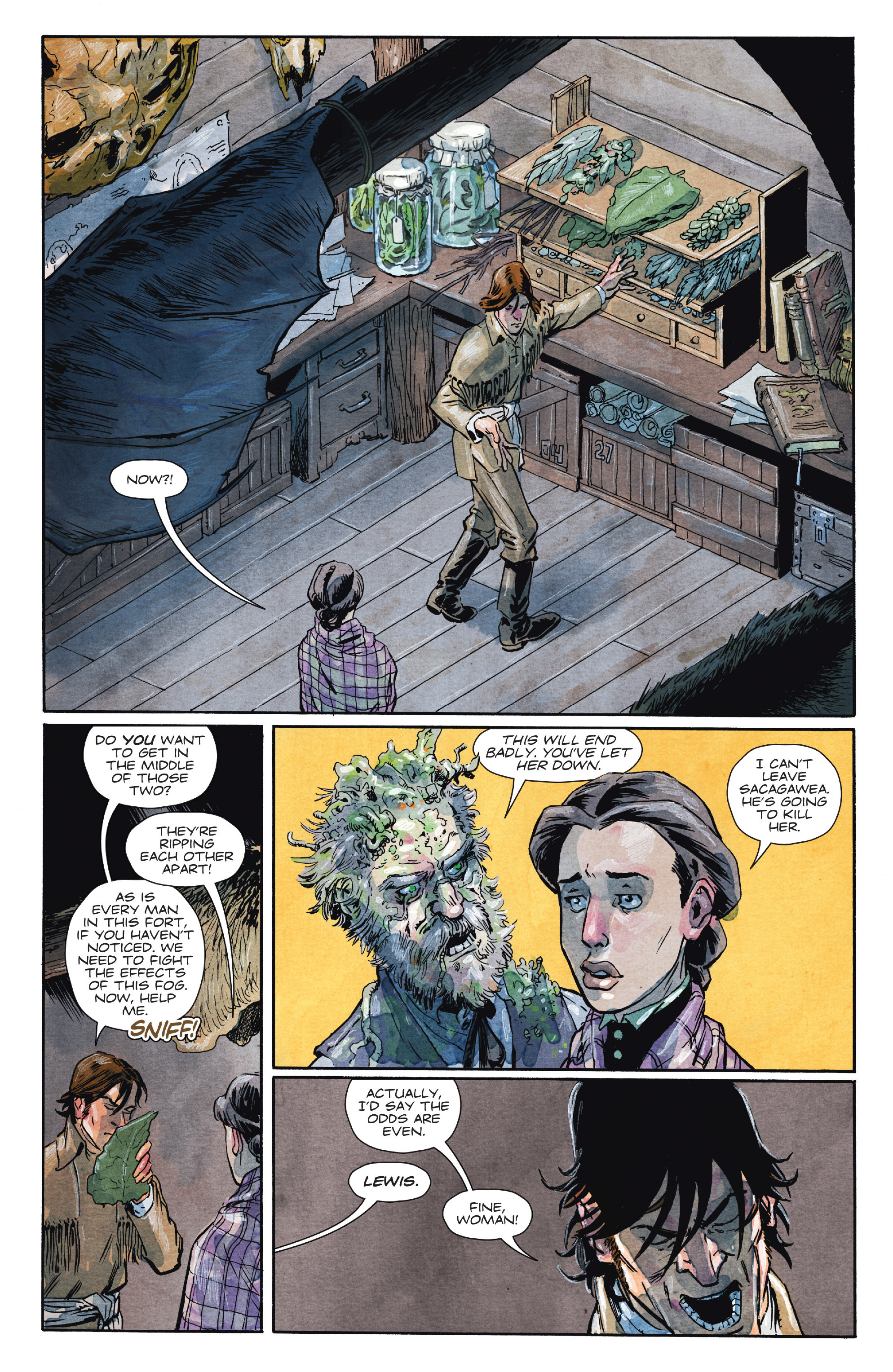 Read online Manifest Destiny comic -  Issue #28 - 6