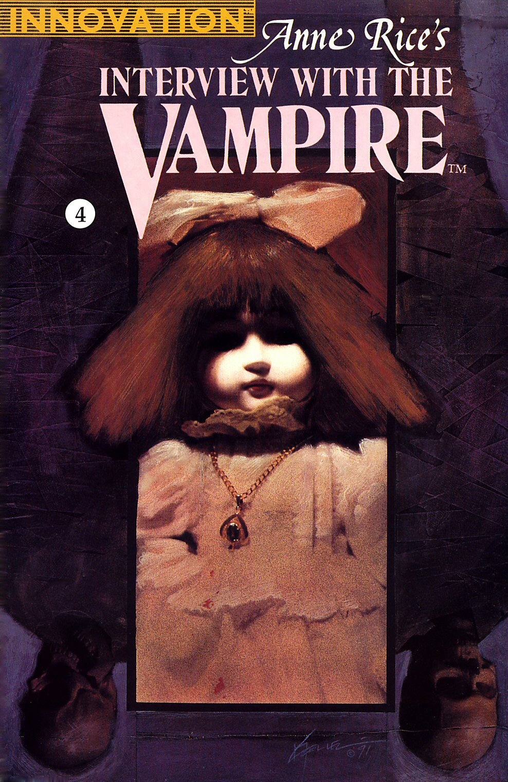 Read online Anne Rice's Interview with the Vampire comic -  Issue #4 - 1