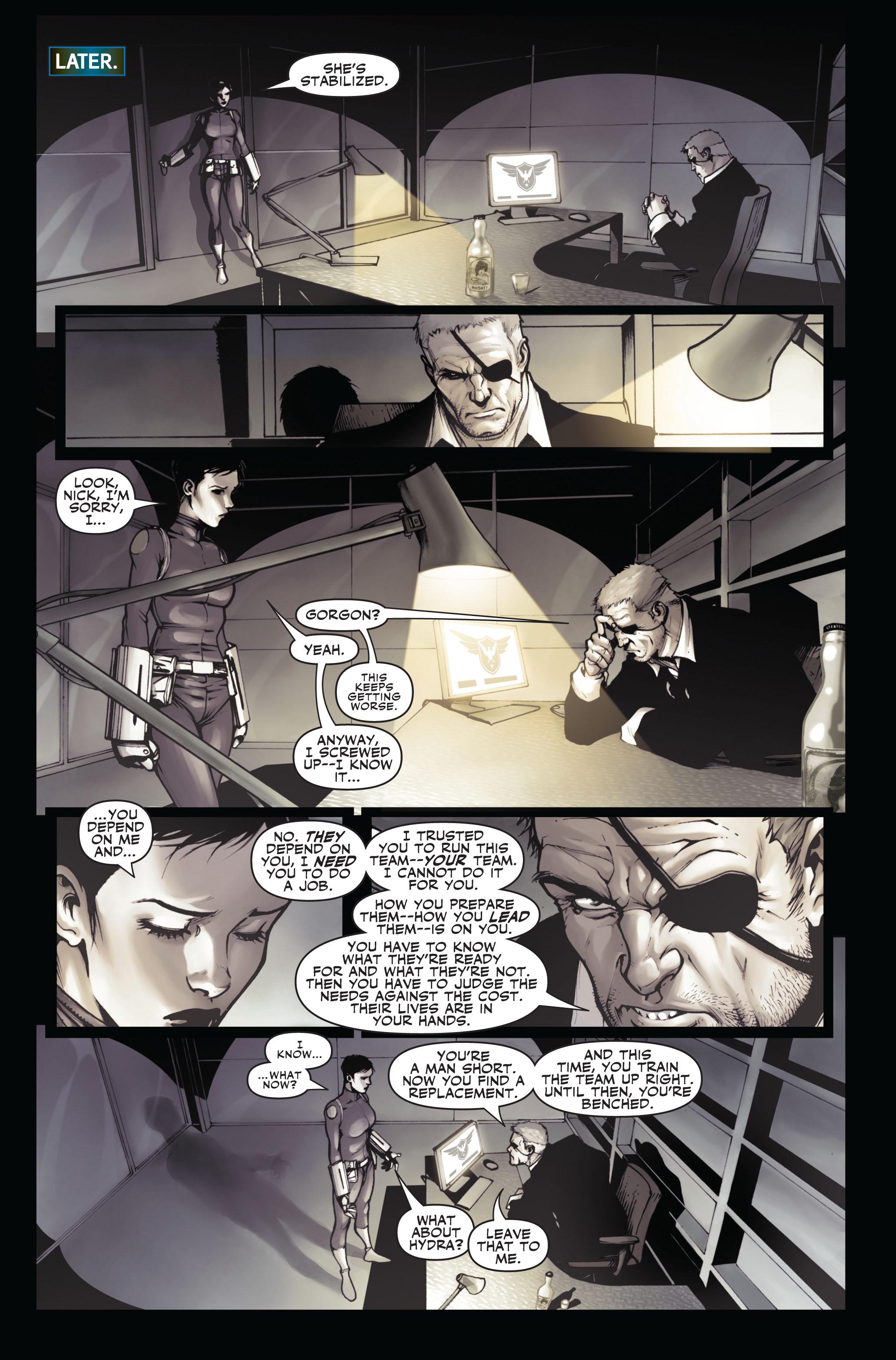 Read online Secret Warriors comic -  Issue #3 - 23
