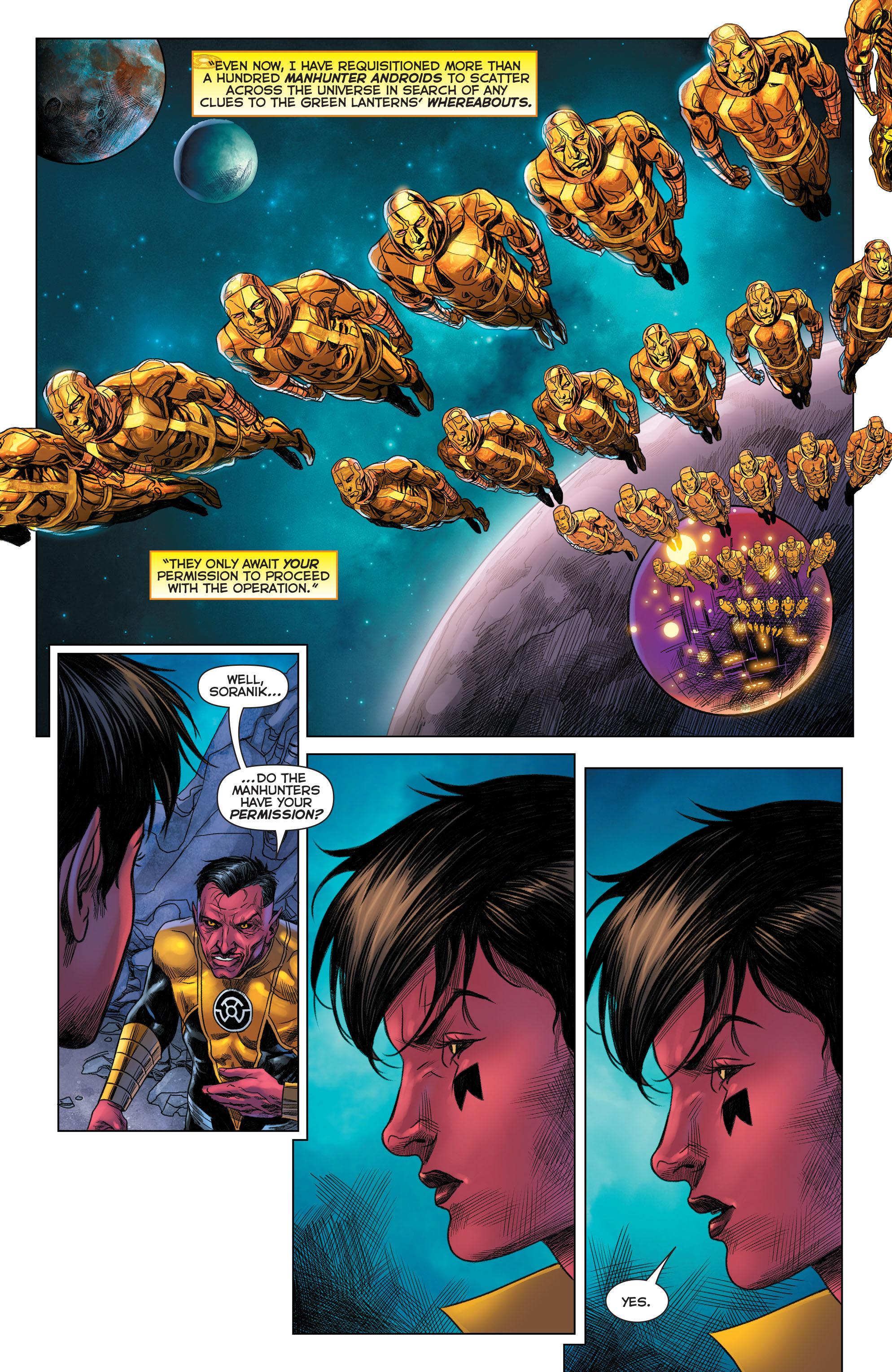Read online Sinestro comic -  Issue #22 - 18