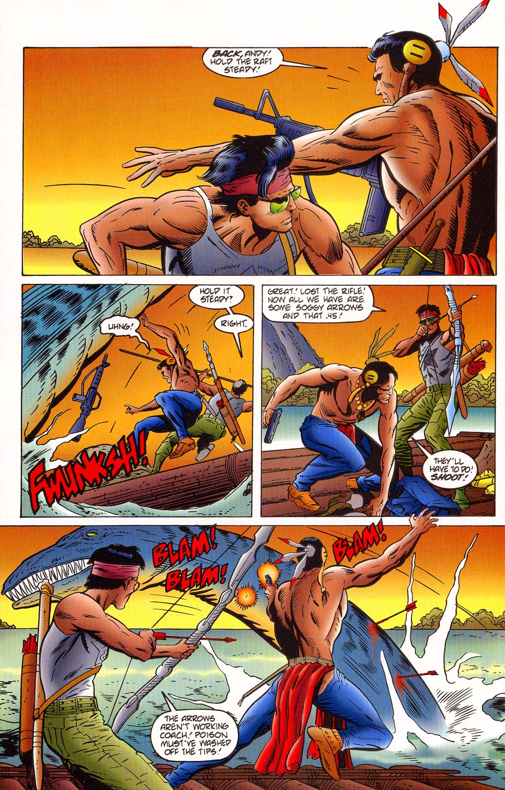 Read online Turok, Dinosaur Hunter (1993) comic -  Issue #45 - 12