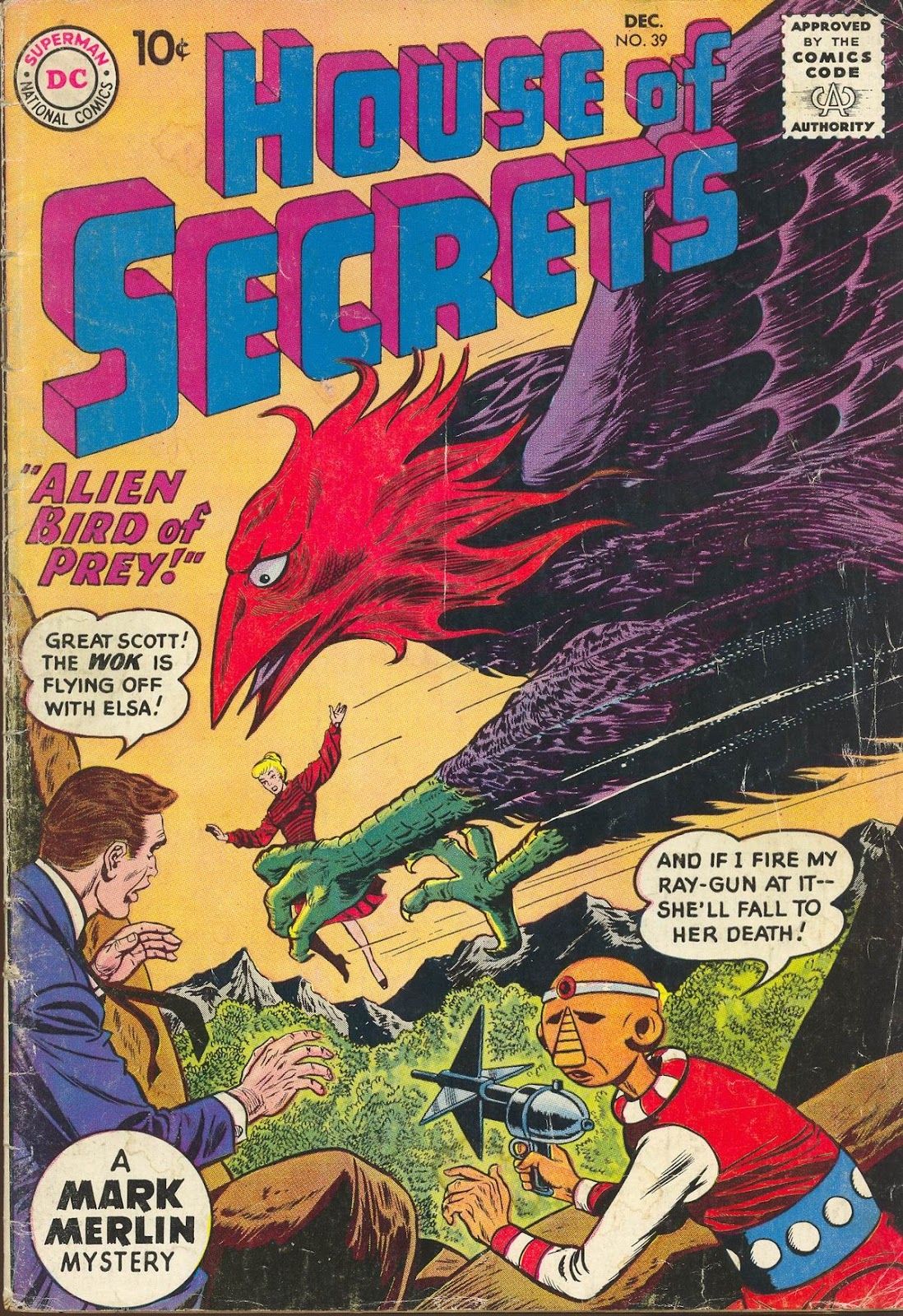 House of Secrets (1956) issue 39 - Page 1
