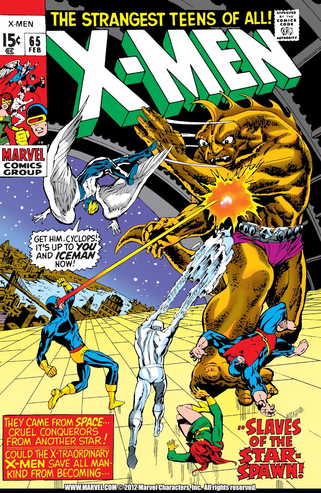 Uncanny X-Men (1963) issue 65 - Page 1