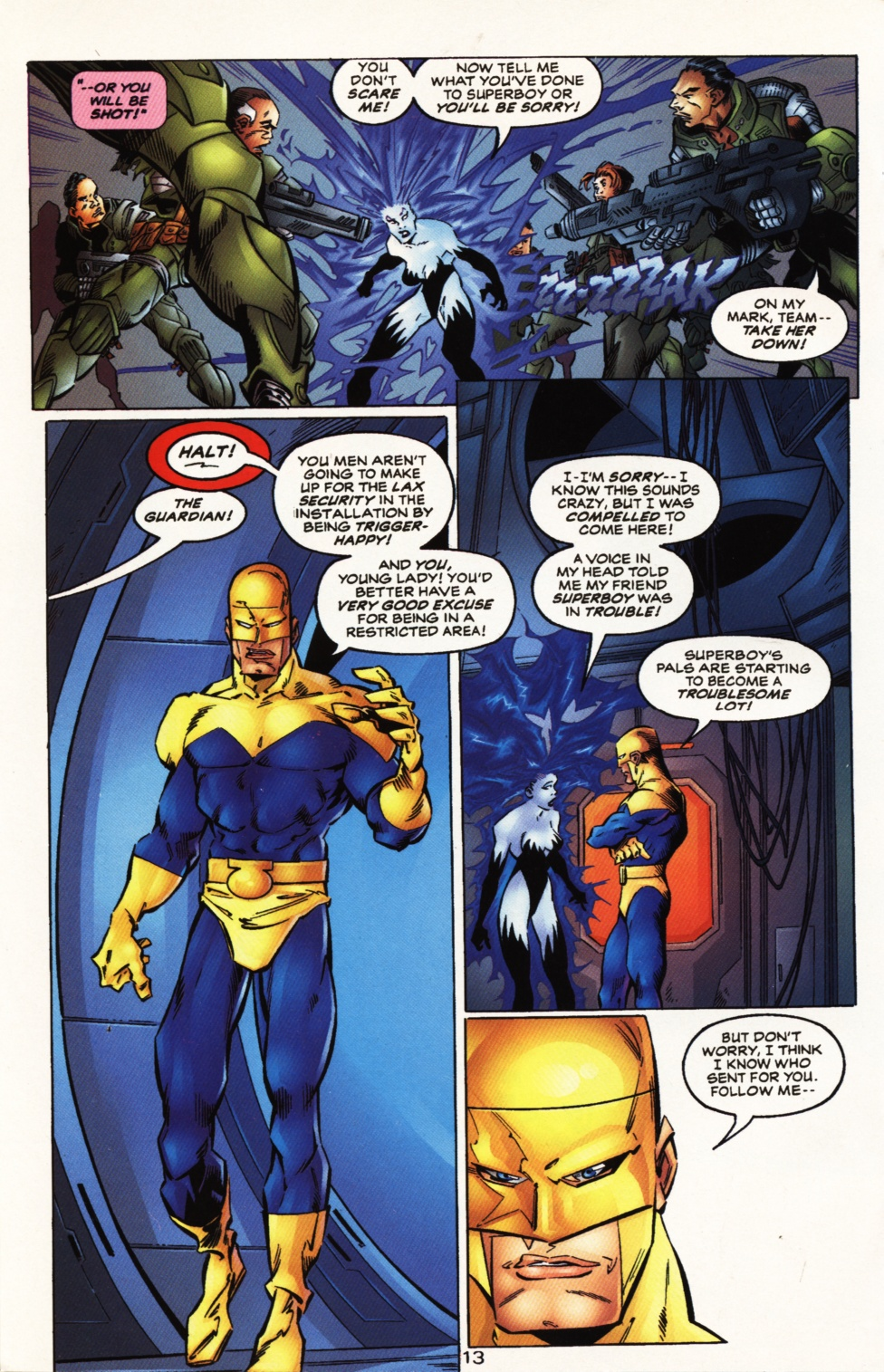 Read online Superboy & The Ravers comic -  Issue #10 - 13