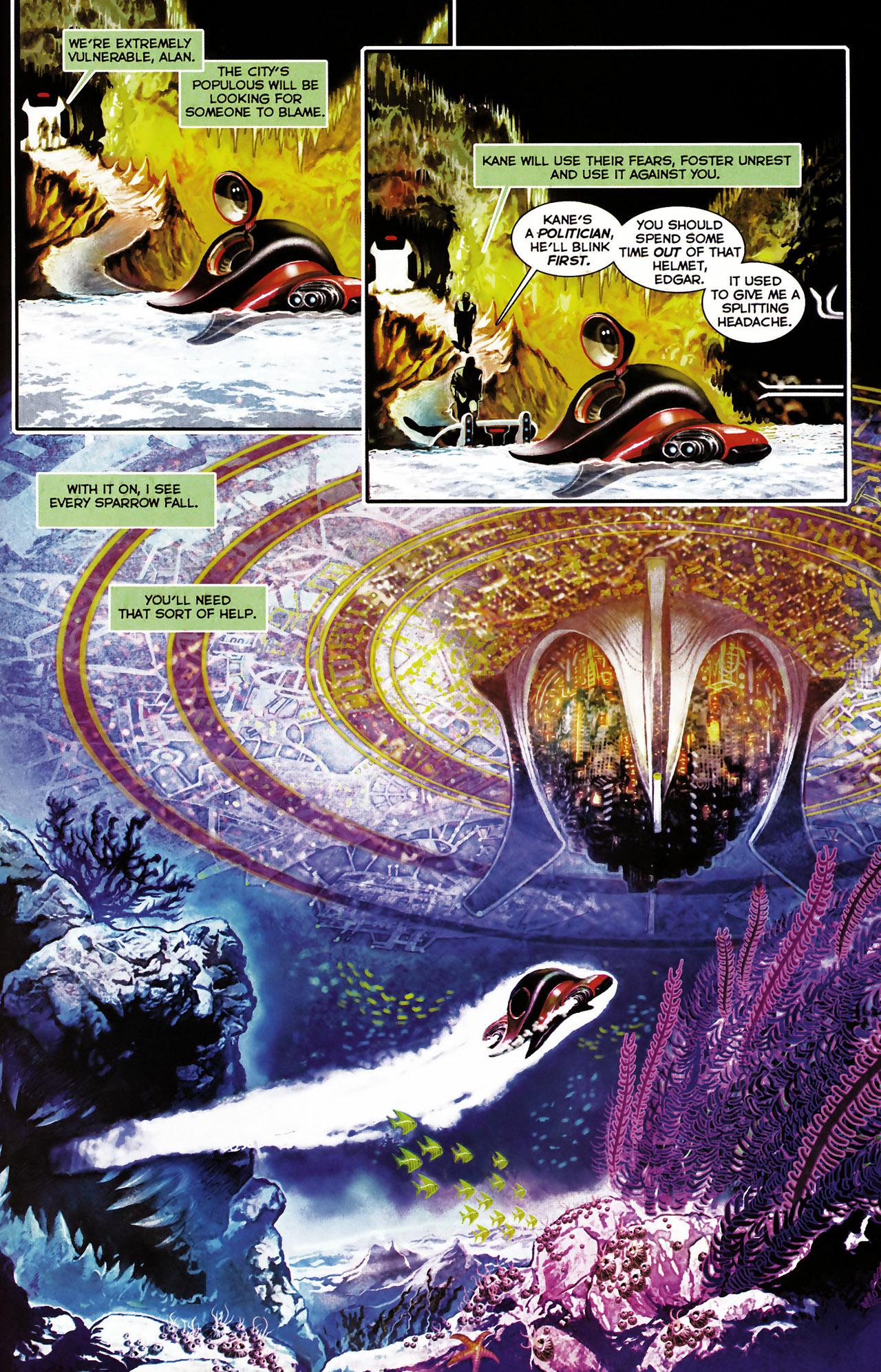 Read online Shark-Man comic -  Issue #1 - 21