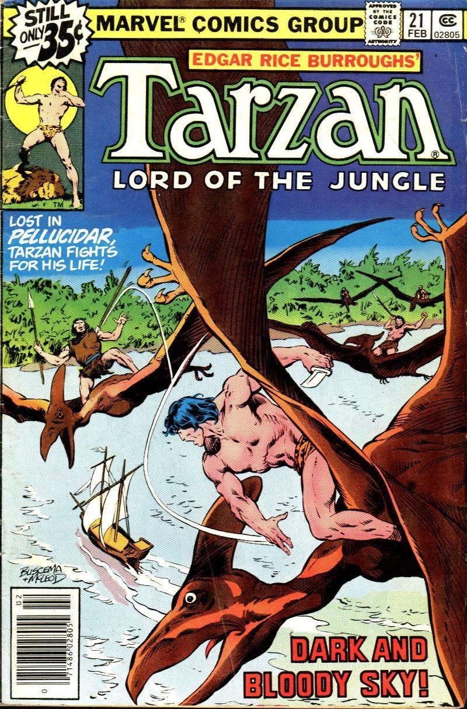 Tarzan (1977) issue 21 - Page 1