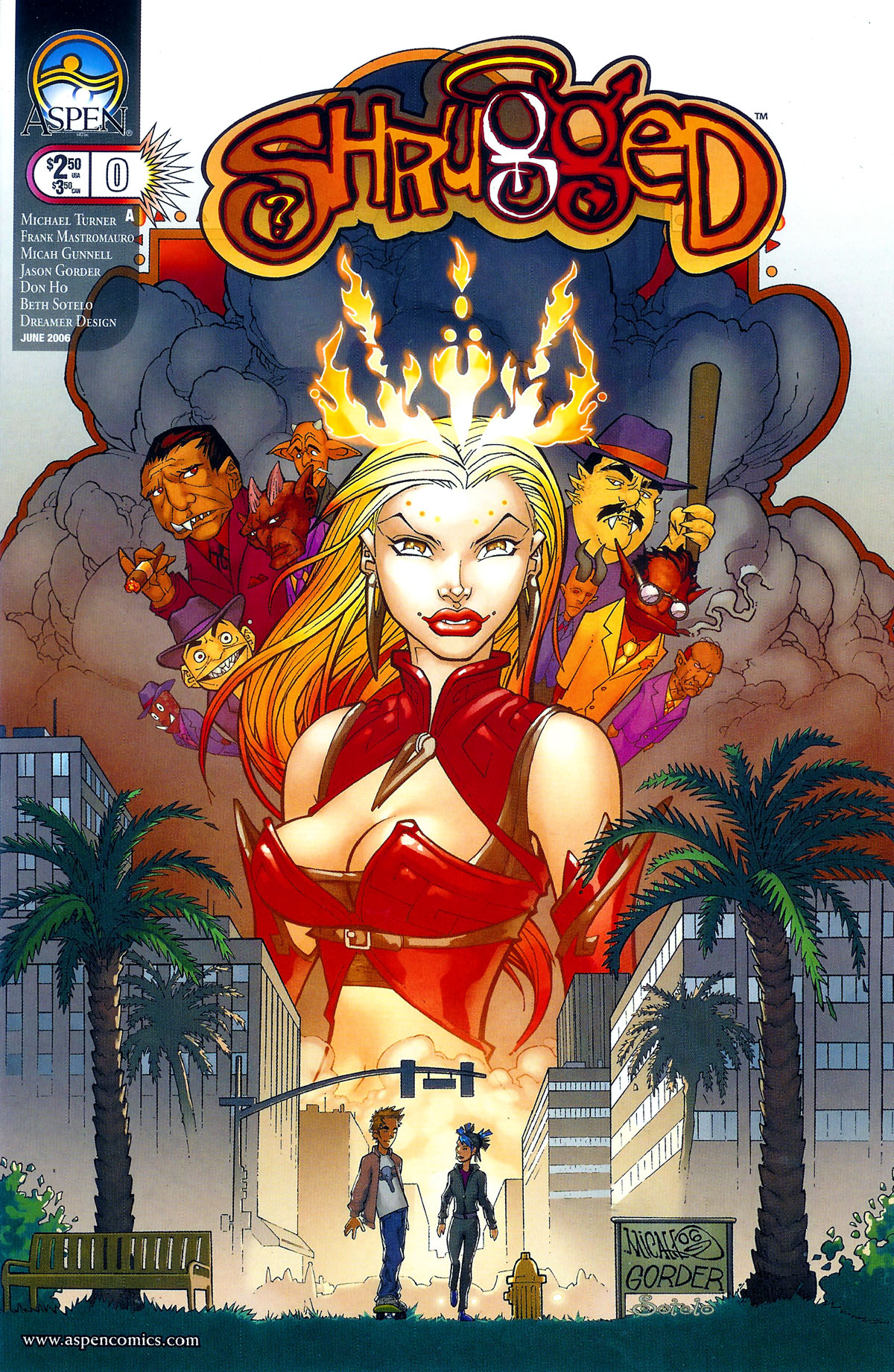 Read online Shrugged (2006) comic -  Issue #0 - 1