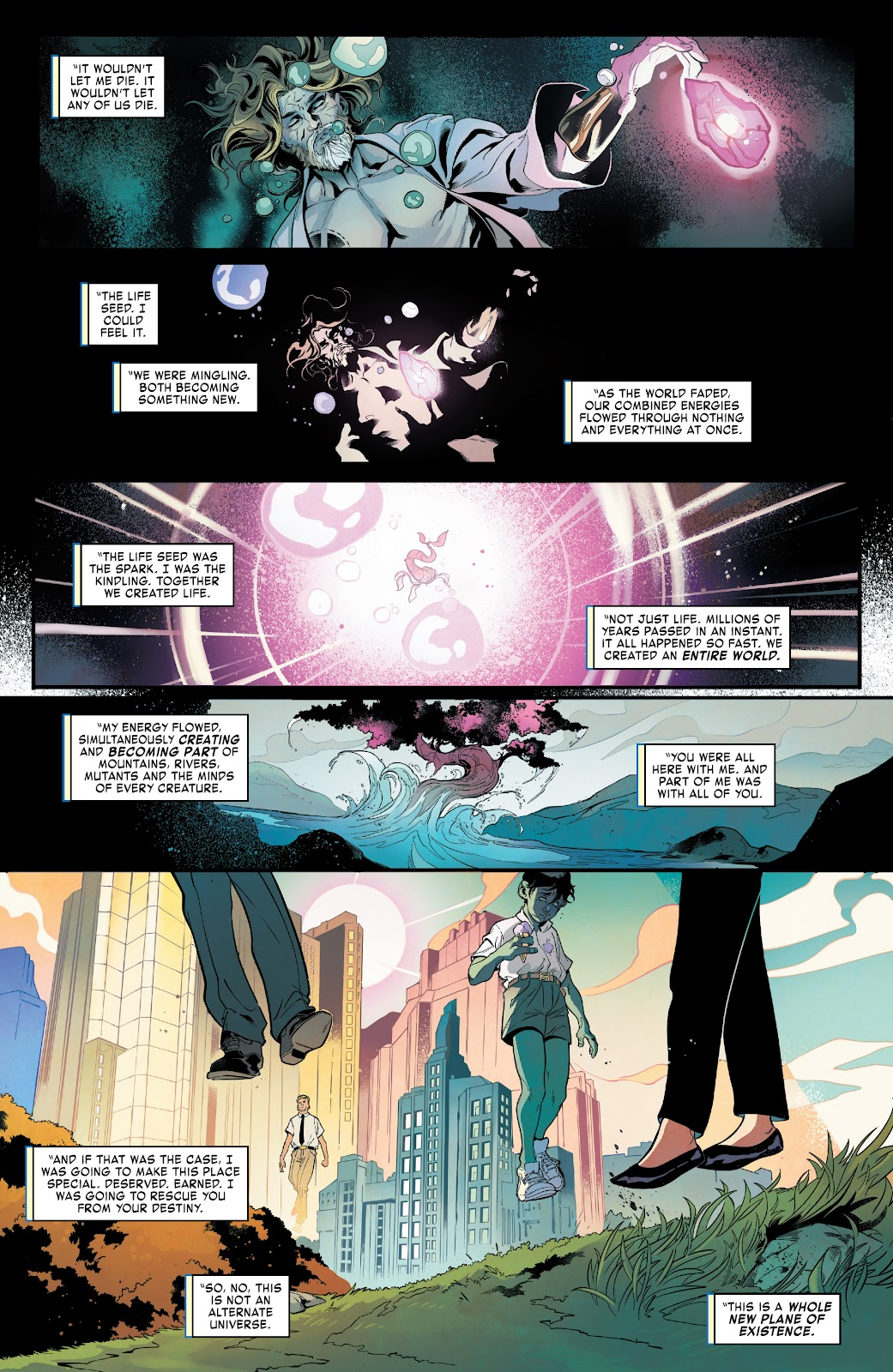Read online Age of X-Man Omega comic -  Issue # Full - 3